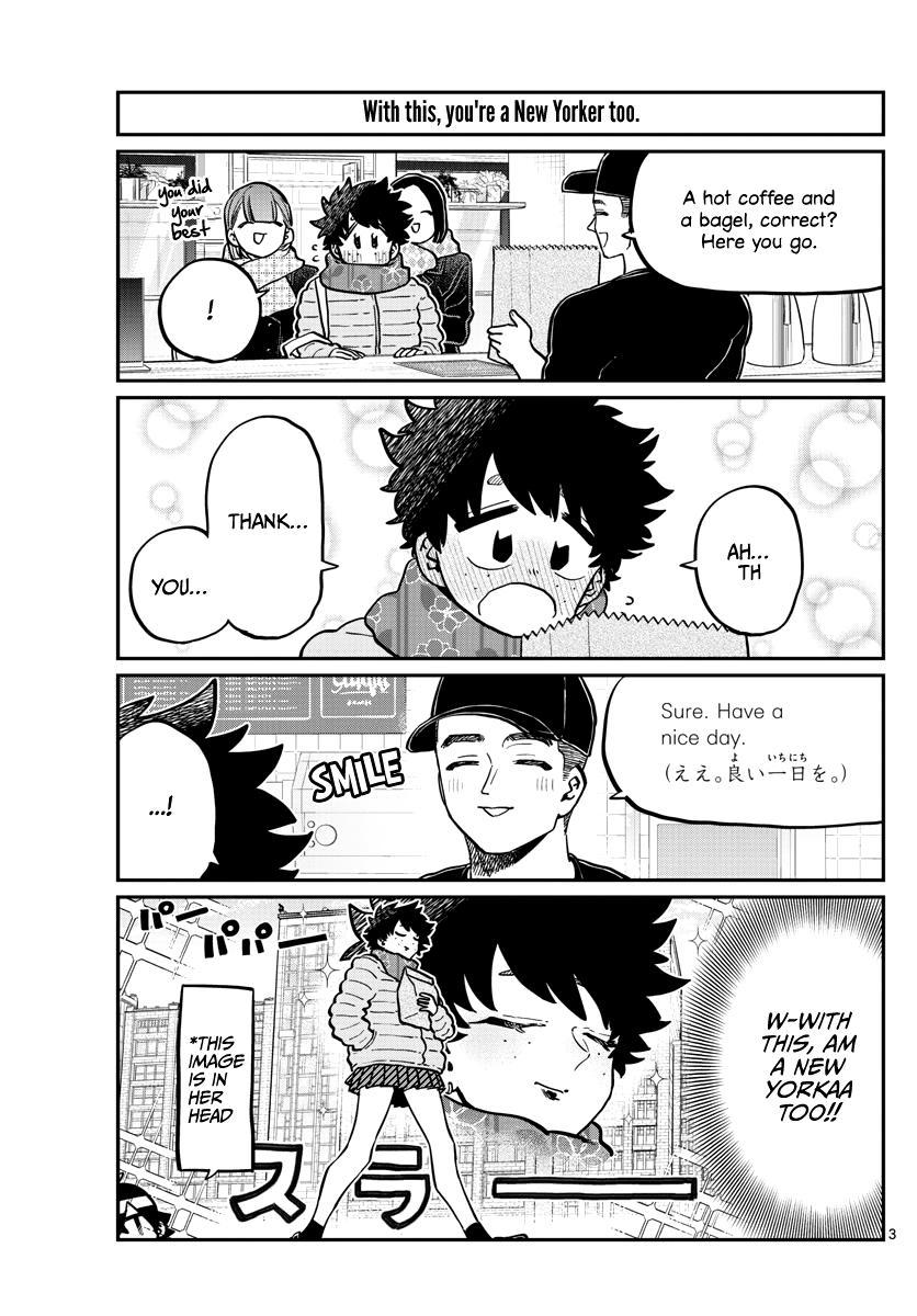 Komi-San Wa Komyushou Desu Chapter 292: Everyone's Field Trip page 3 - Mangakakalot
