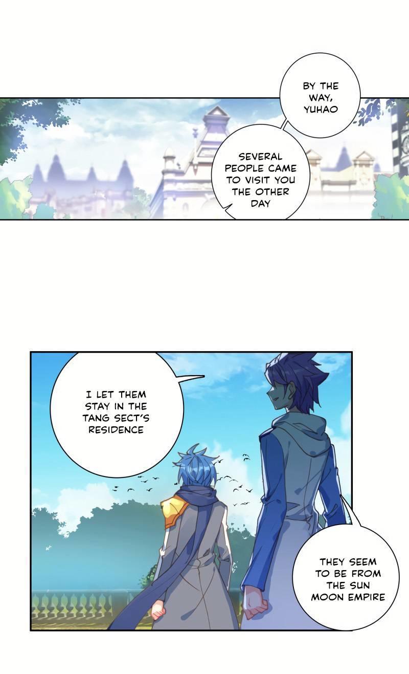 Douluo Dalu Ii - Jueshui Tangmen Chapter 261 page 11 - Mangakakalot