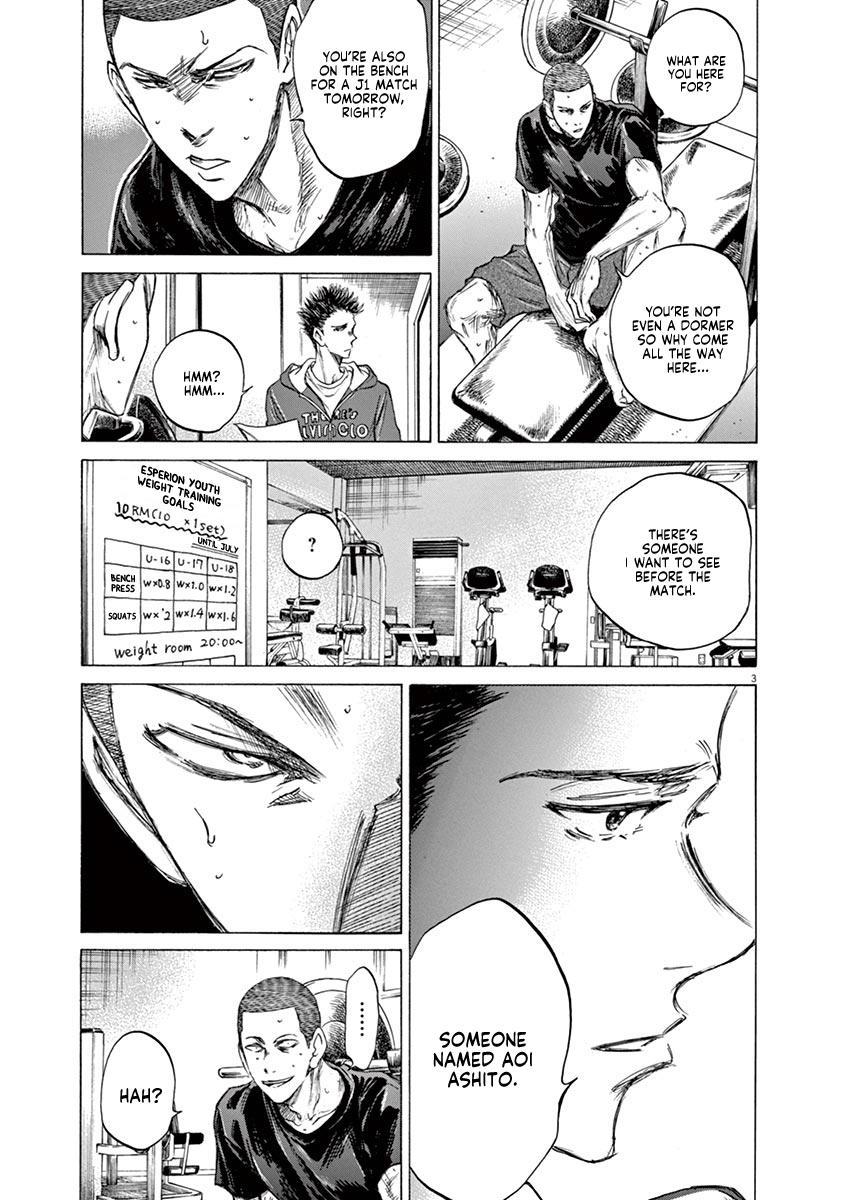 Ao Ashi Vol.7 Chapter 65: Returning To The Dorms page 3 - Mangakakalots.com