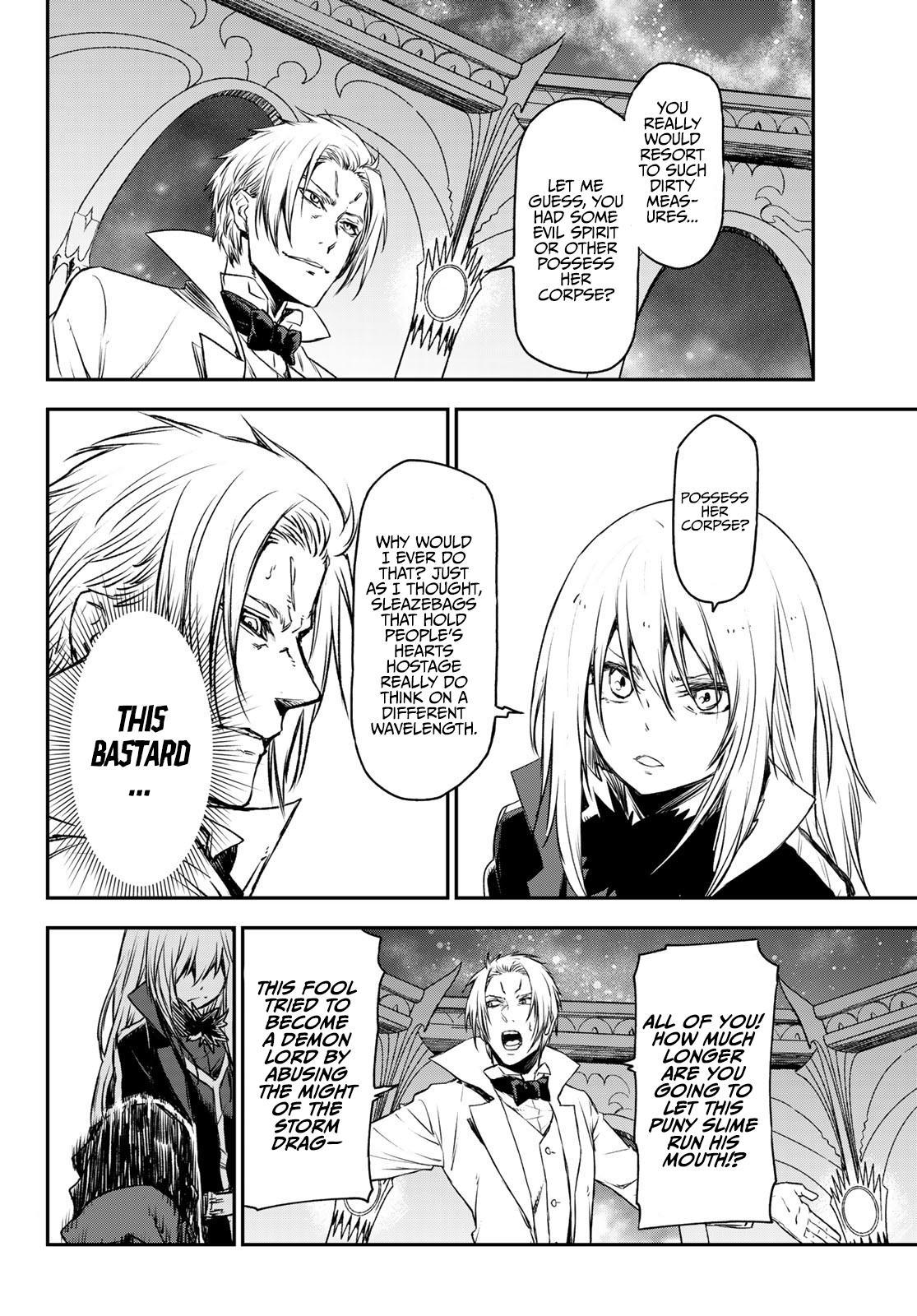 Tensei Shitara Slime Datta Ken Chapter 81: The Wight King page 22 - Mangakakalots.com