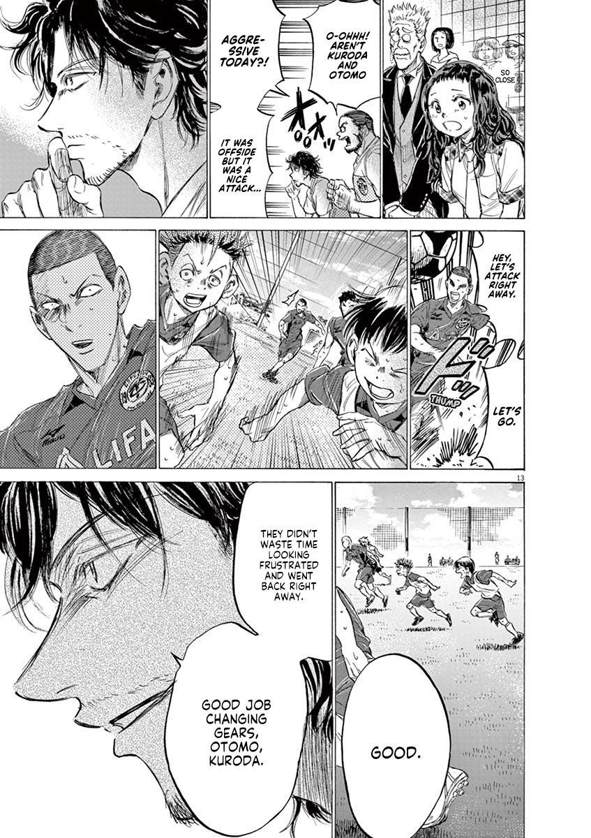 Ao Ashi Vol.14 Chapter 146: Aim Higher page 14 - Mangakakalots.com