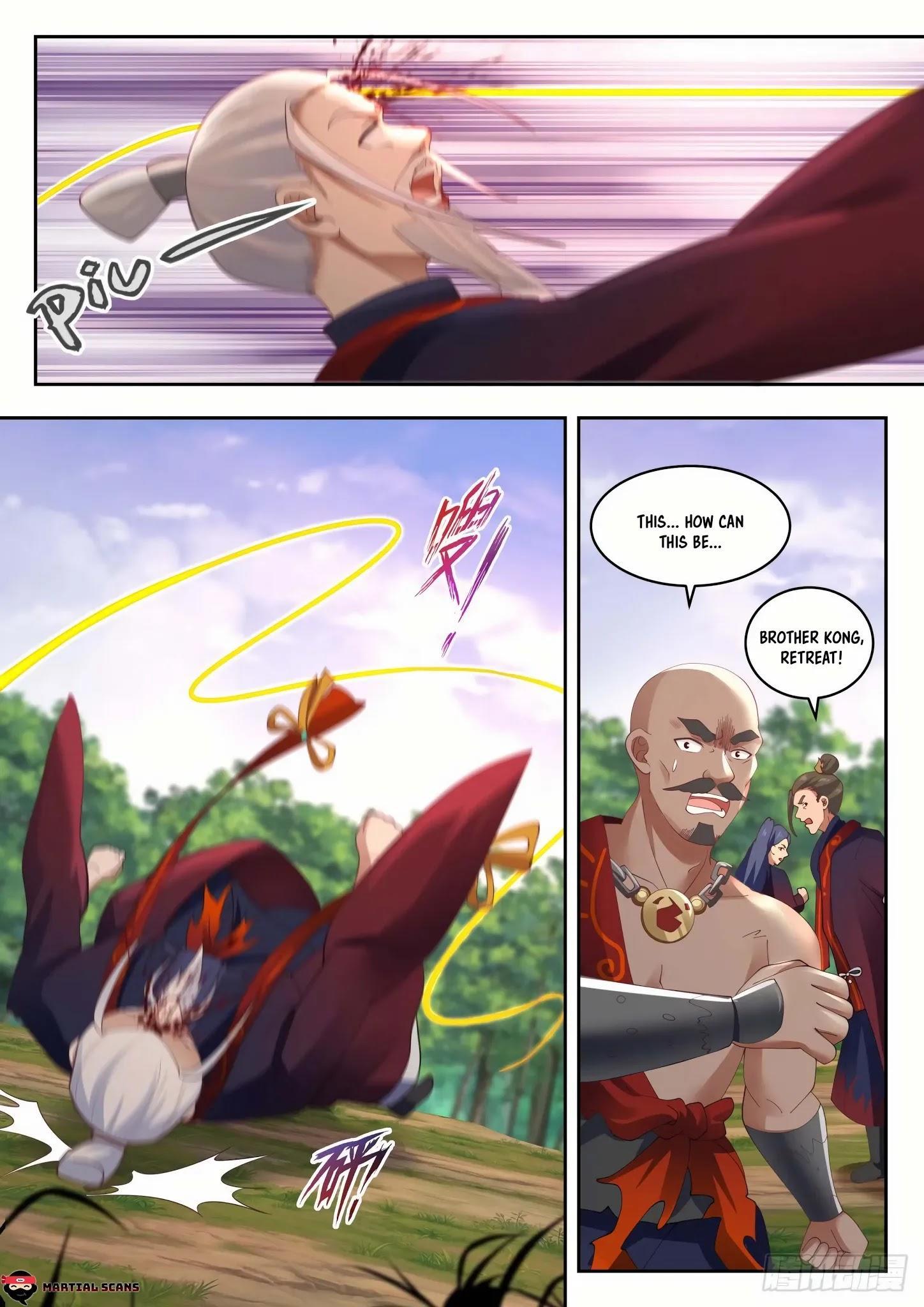 Martial Peak Chapter 1313: Heaven Scorching Thunder Fire page 11 - Mangakakalots.com