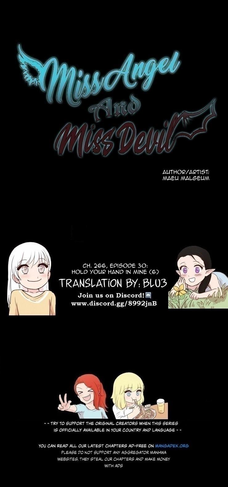 Miss Angel And Miss Devil Chapter 267: Ep. 30 - Hold Your Hand In Mine (6) page 2 - Mangakakalots.com