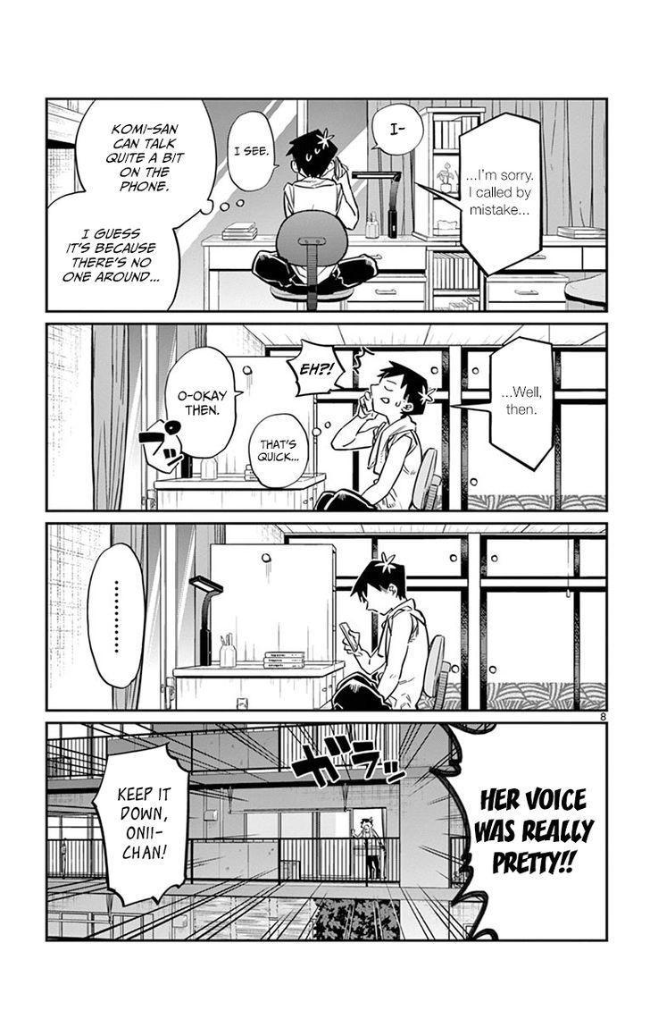Komi-San Wa Komyushou Desu Vol.1 Chapter 18: Wrong Number page 7 - Mangakakalot