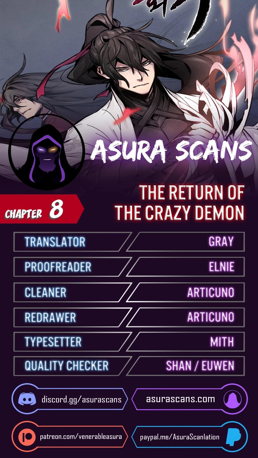The Return Of The Crazy Demon Chapter 8 page 1 - Mangakakalots.com