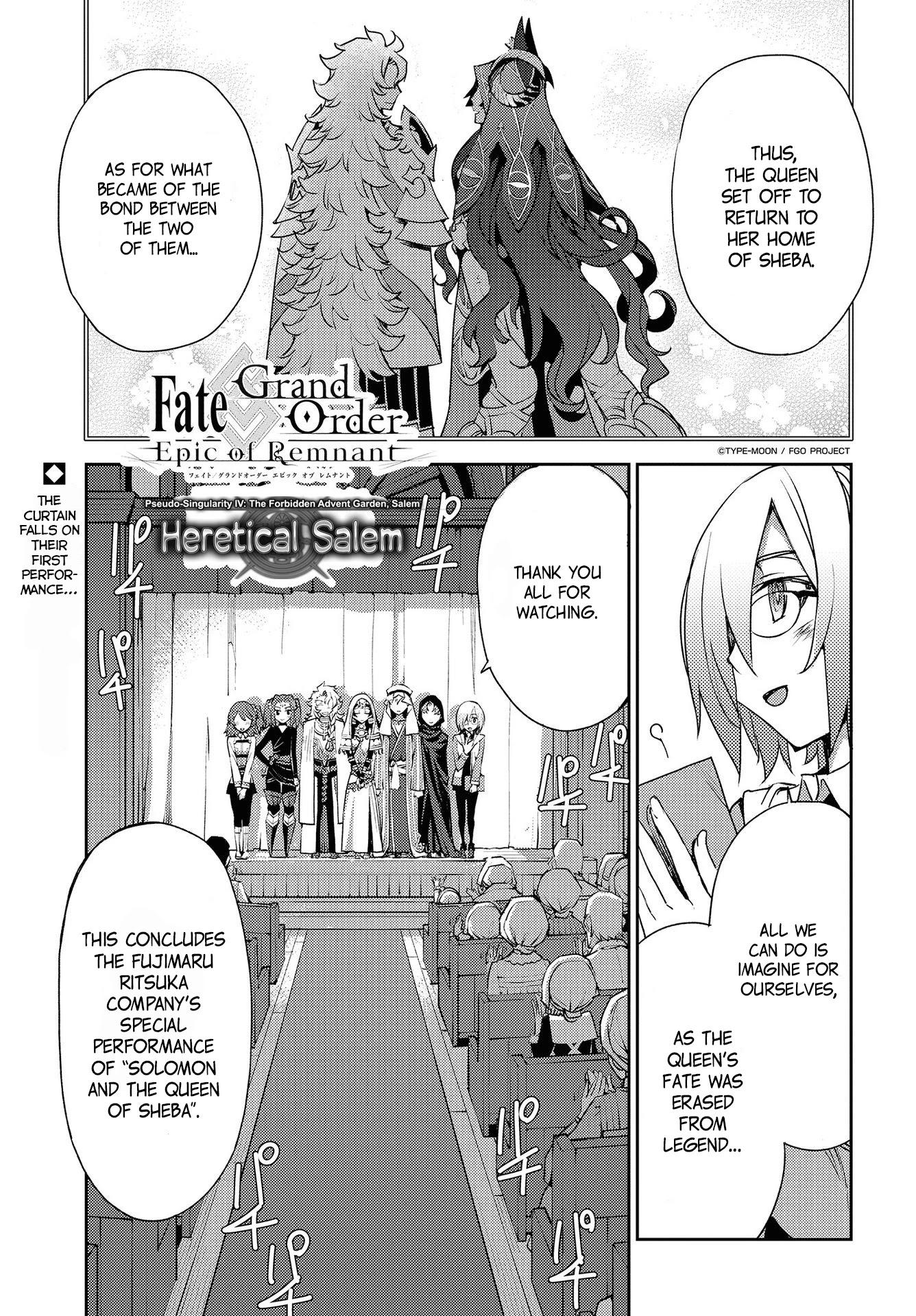 Fate/grand Order: Epic Of Remnant - Subspecies Singularity Iv: Taboo Advent Salem: Salem Of Heresy Chapter 8: Unknot: Before Dawn 7 page 1 - Mangakakalots.com