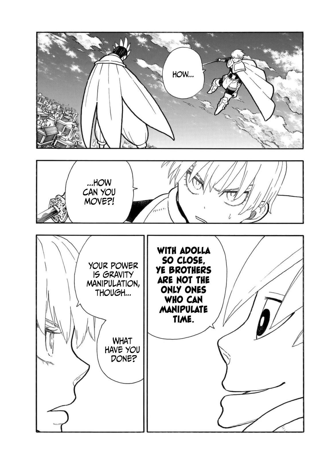 Enen No Shouboutai Chapter 274: The Saviour And The Guardian Angel page 12 - Mangakakalots.com