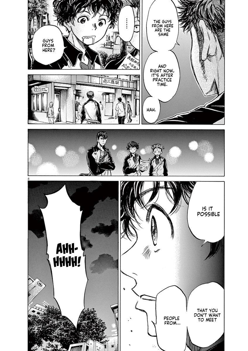 Ao Ashi Vol.8 Chapter 74: At The Entrance Of Mitaka Station (1) page 9 - Mangakakalots.com