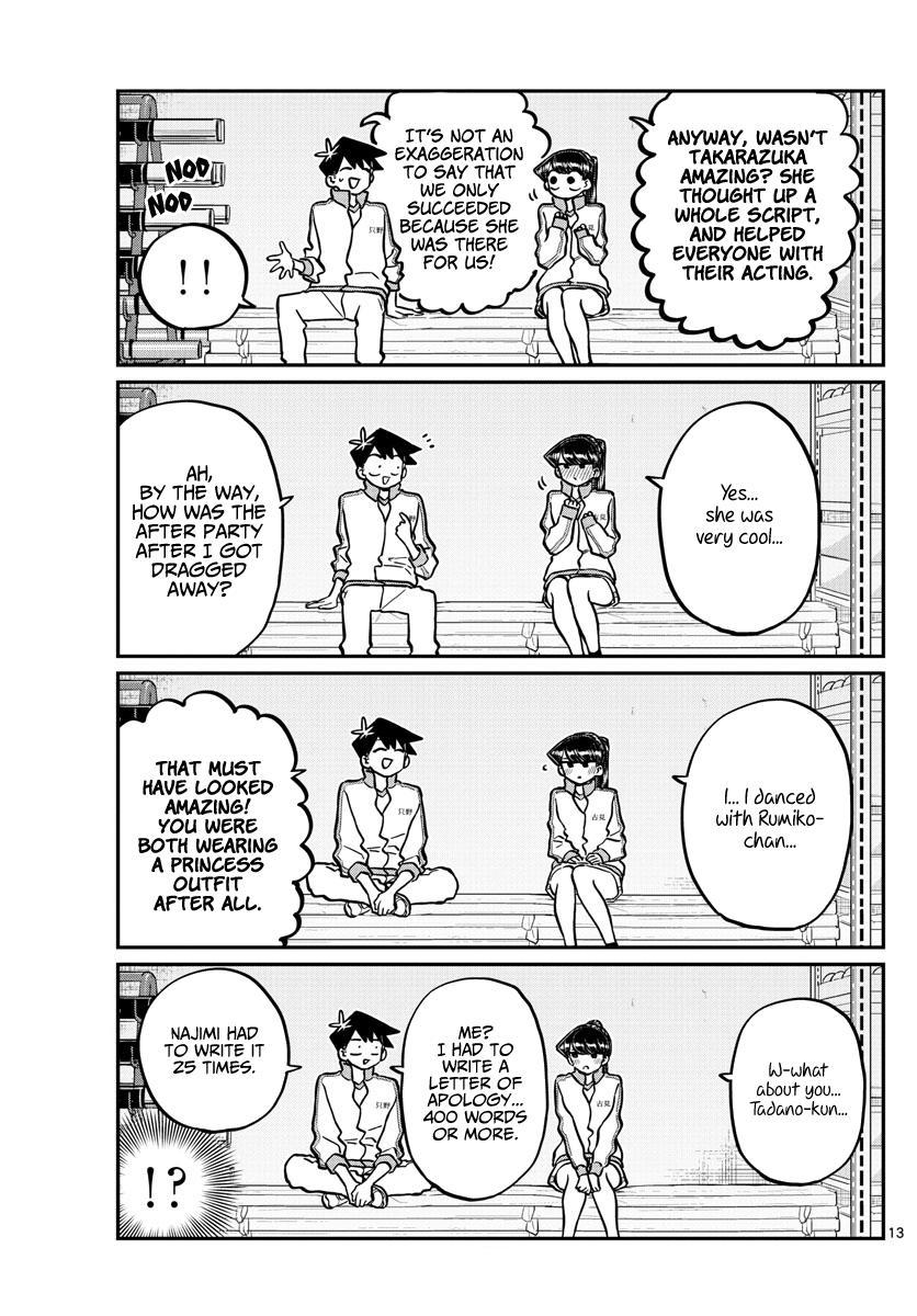 Komi-San Wa Komyushou Desu Chapter 246: Gymnasium Storage page 13 - Mangakakalot