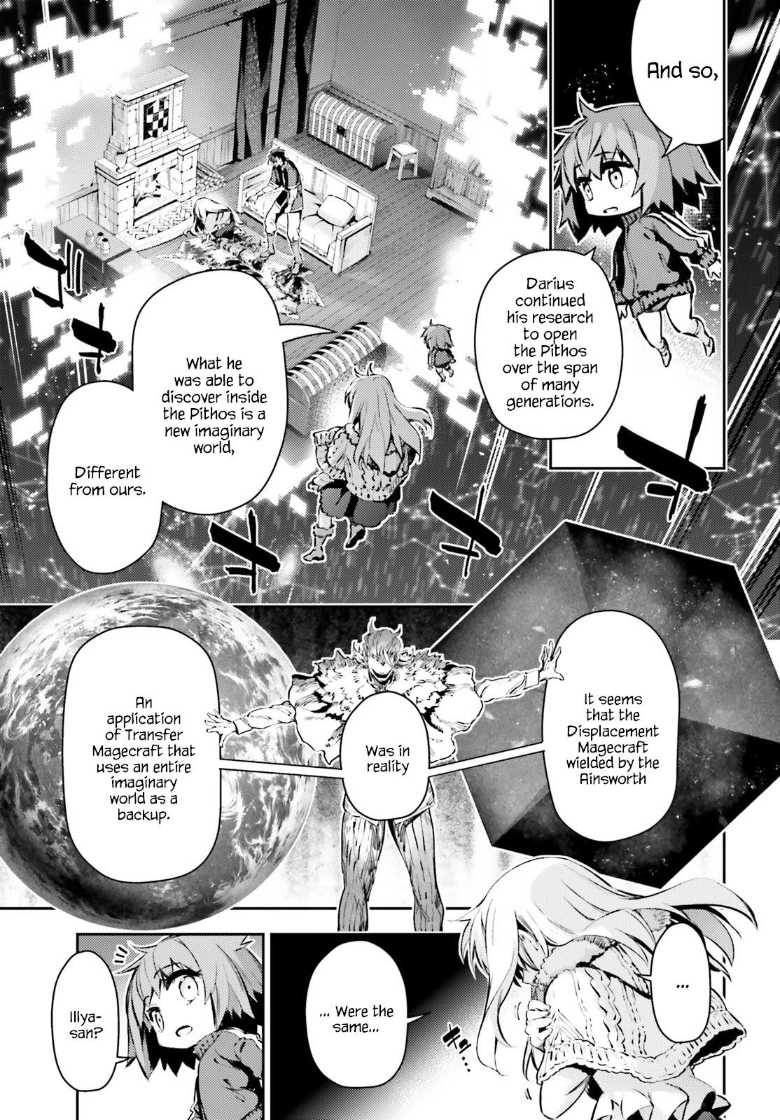 Fate/kaleid Liner Prisma☆Illya 3Rei!! Chapter 65.2: Tactility Of The Planet page 9 - Mangakakalots.com
