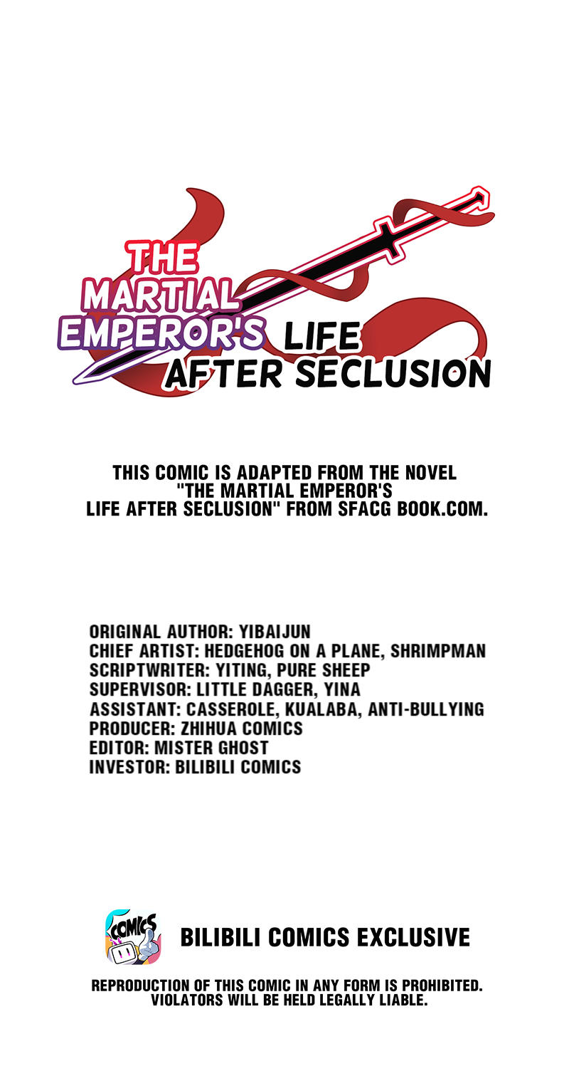 The Martial Emperor's Life After Seclusion Chapter 50: Stay, Accommodate, And A Comeback page 1 - Mangakakalots.com