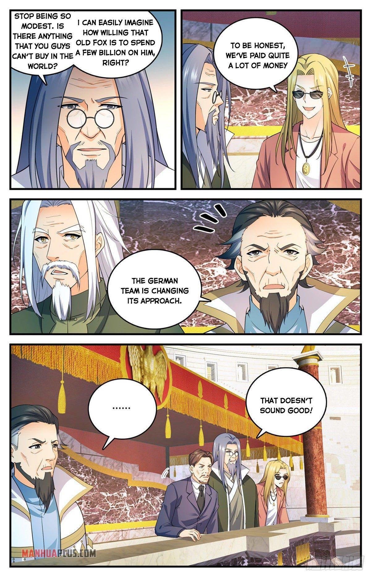 Versatile Mage Chapter 721 page 3 - Mangakakalots.com