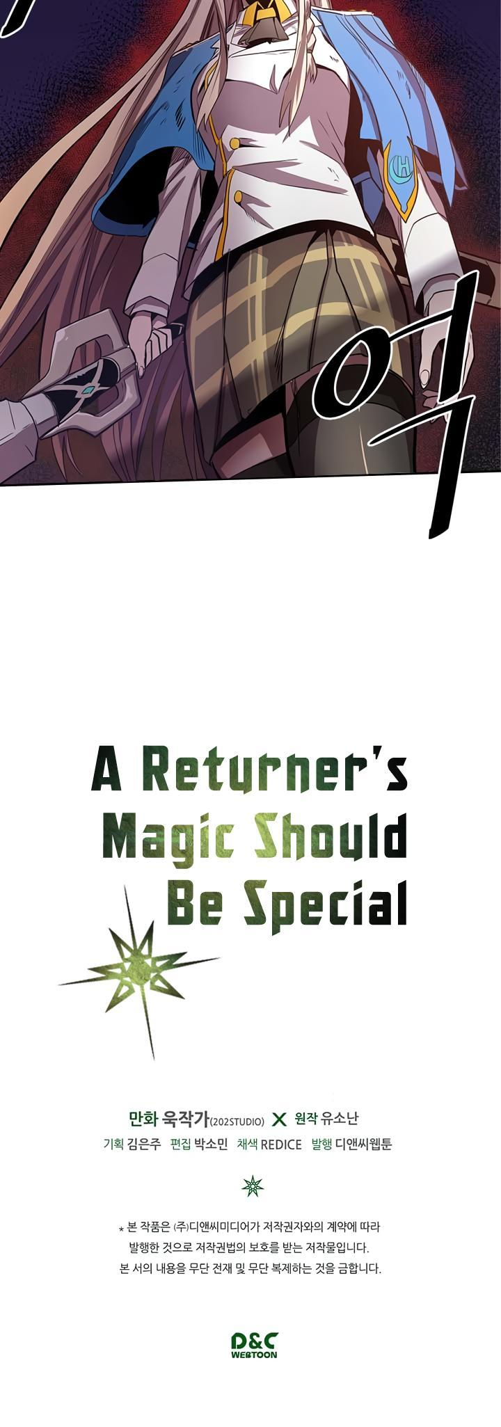 A Returner's Magic Should Be Special Chapter 31 page 32 - Mangakakalots.com