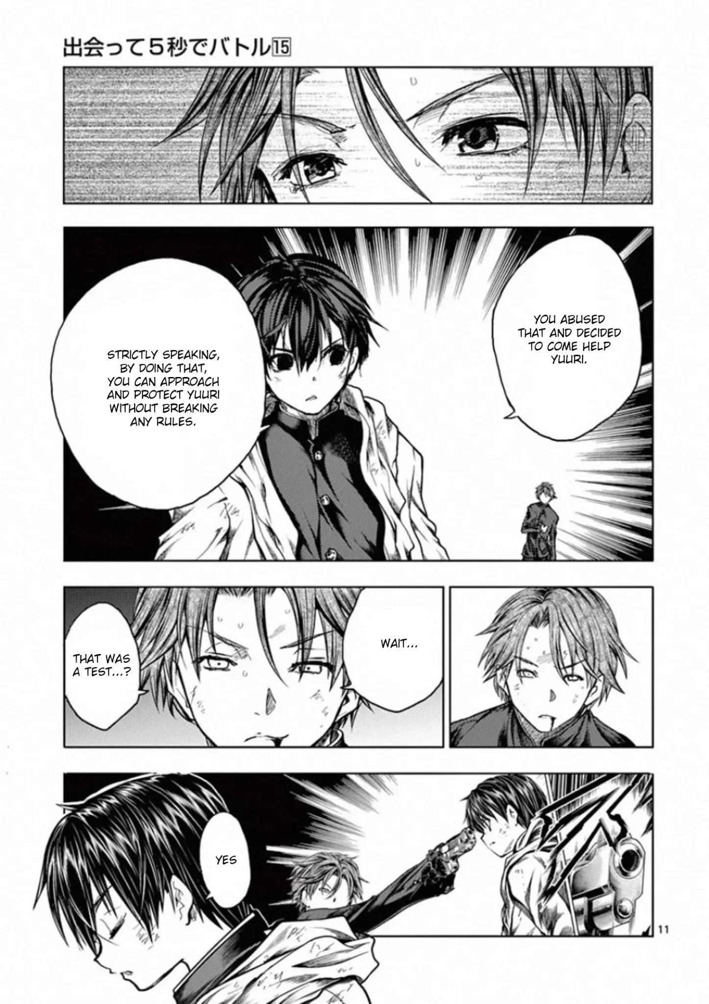 Deatte 5 Byou De Battle Chapter 128: Two Billion Light-Years Of Solitude page 11 - Mangakakalots.com