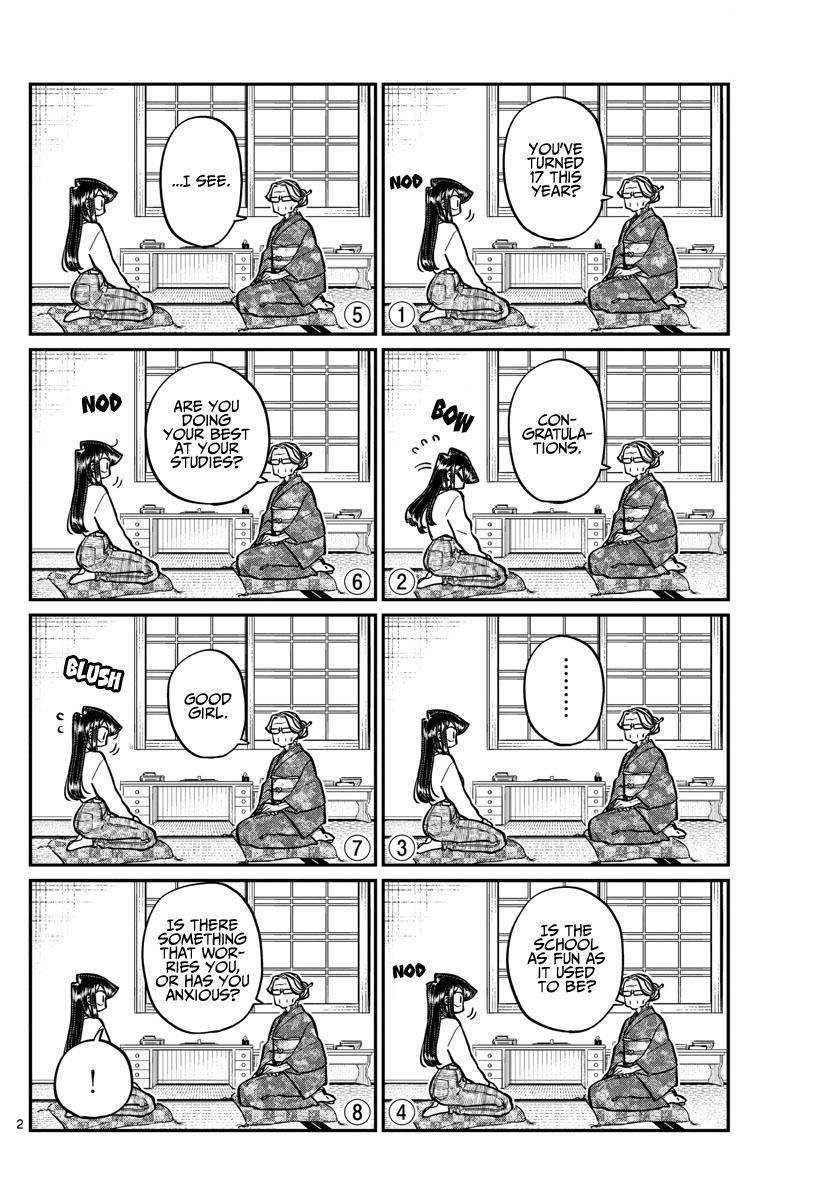 Komi-San Wa Komyushou Desu Chapter 271: End Of Year Report page 2 - Mangakakalot