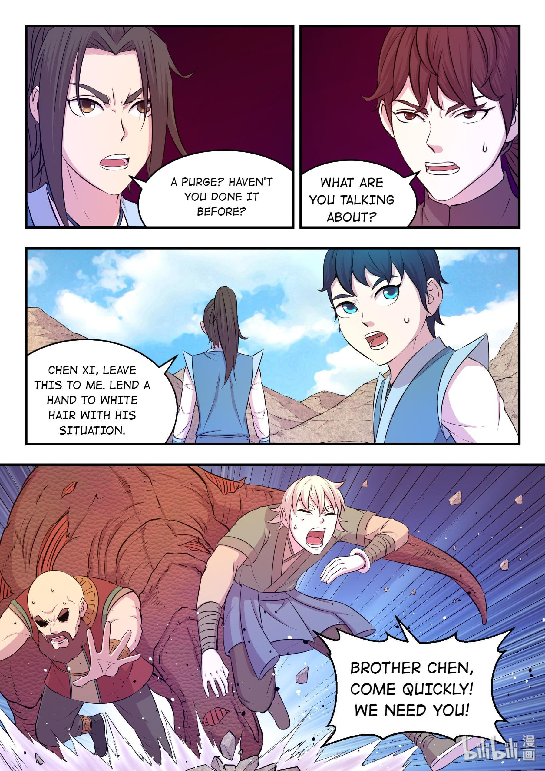 The All-Devouring Whale Chapter 33: Transfigure Qhale Into Roc page 18 - Mangakakalots.com