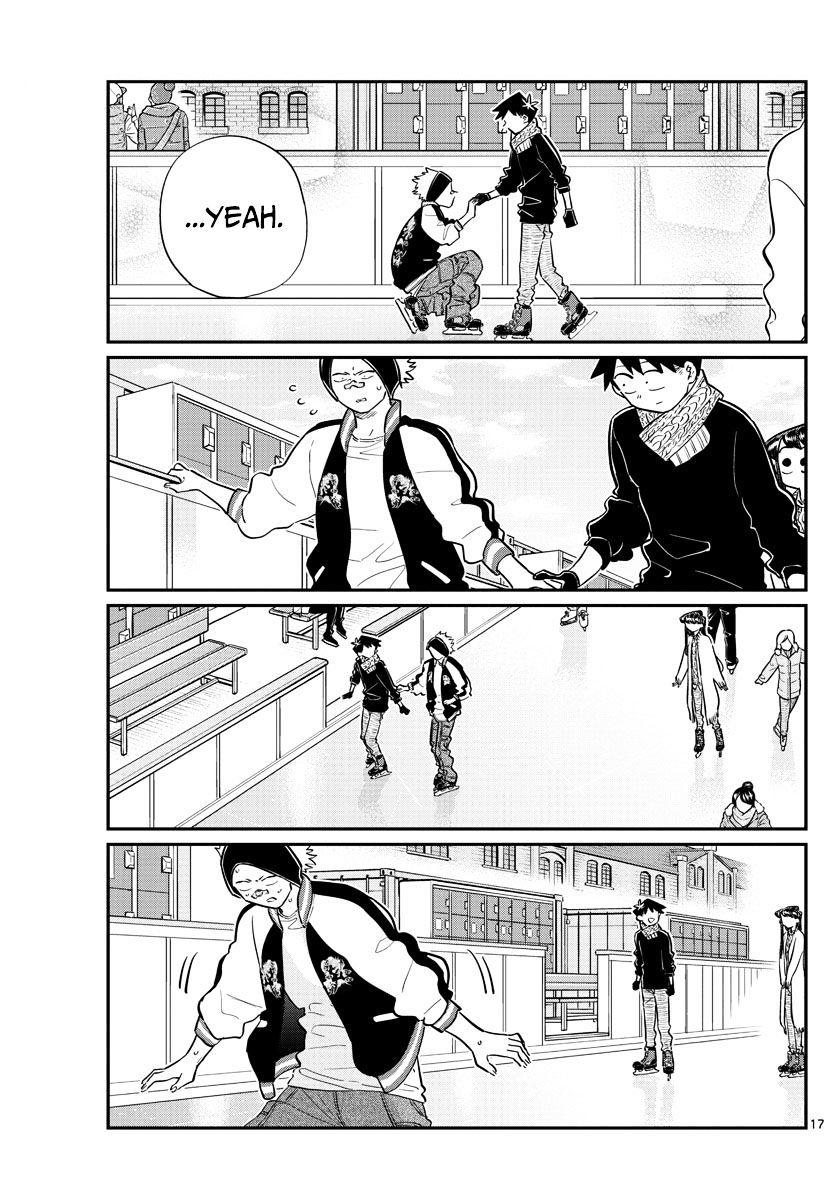 Komi-San Wa Komyushou Desu Vol.7 Chapter 95: Ice Skating page 17 - Mangakakalot
