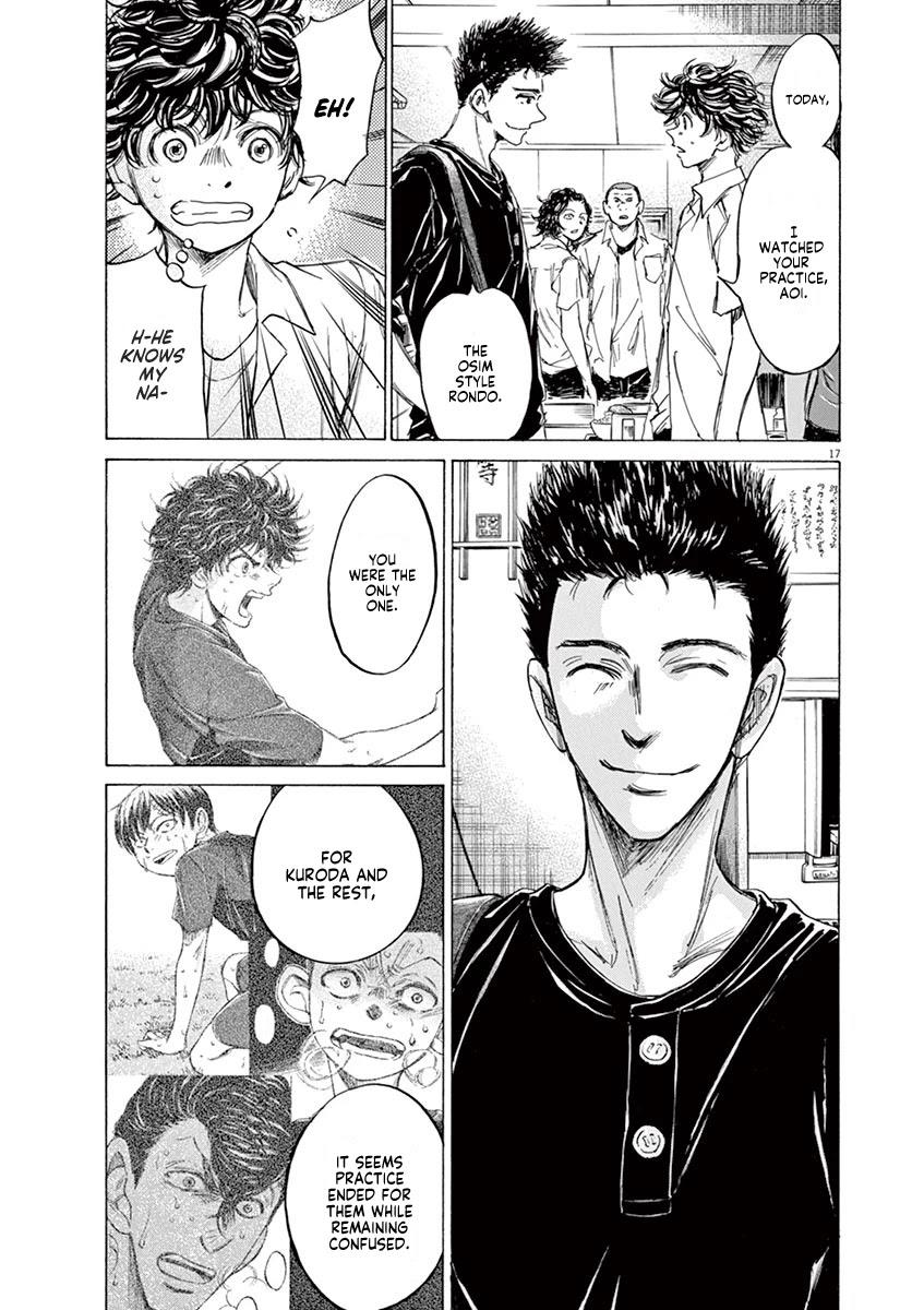 Ao Ashi Chapter 122: At Hinomaru Eatery (1) page 18 - Mangakakalots.com