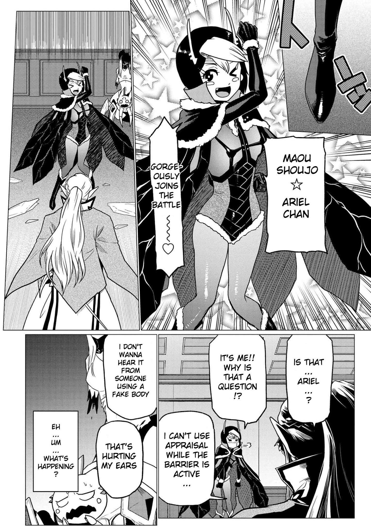 Kumo Desu Ga, Nani Ka? Chapter 53.1 page 14 - Mangakakalot
