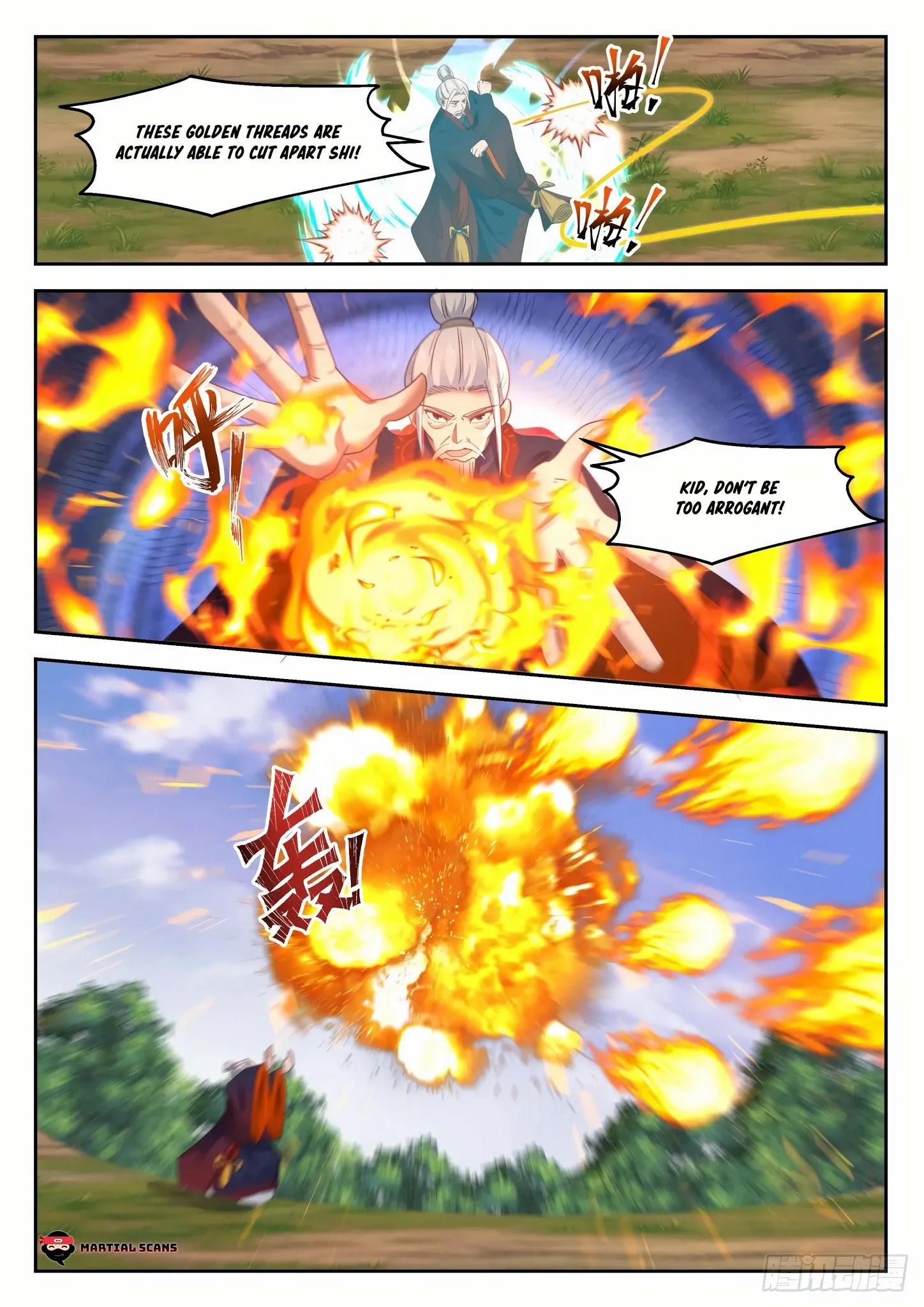 Martial Peak Chapter 1313: Heaven Scorching Thunder Fire page 2 - Mangakakalots.com