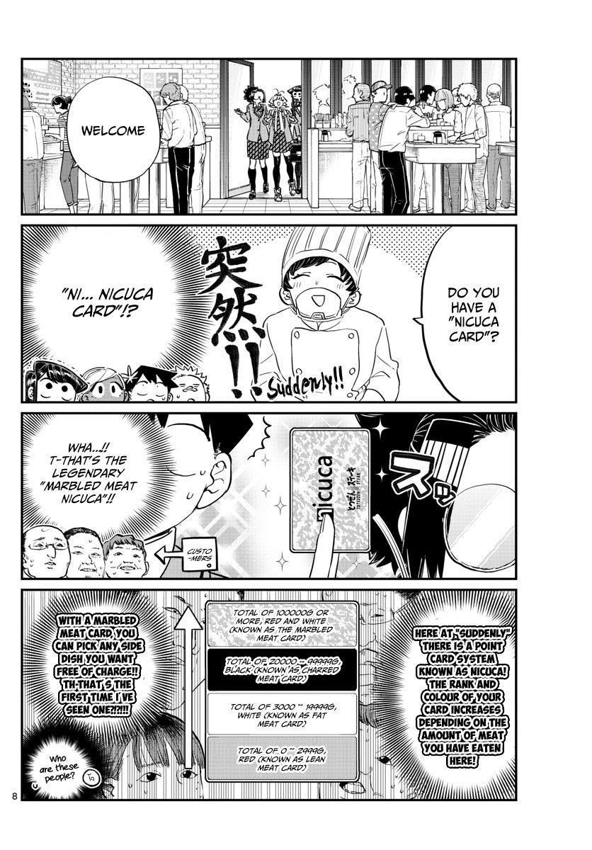 Komi-San Wa Komyushou Desu Vol.10 Chapter 139: Suddenly page 8 - Mangakakalot