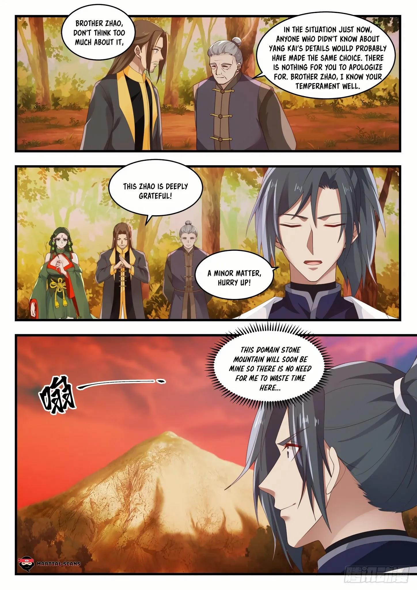Martial Peak Chapter 1386: Kill Him page 10 - Mangakakalots.com