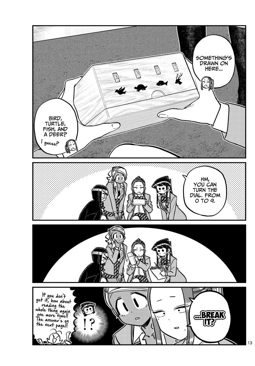 Komi-San Wa Komyushou Desu Chapter 241: Escape page 16 - Mangakakalot