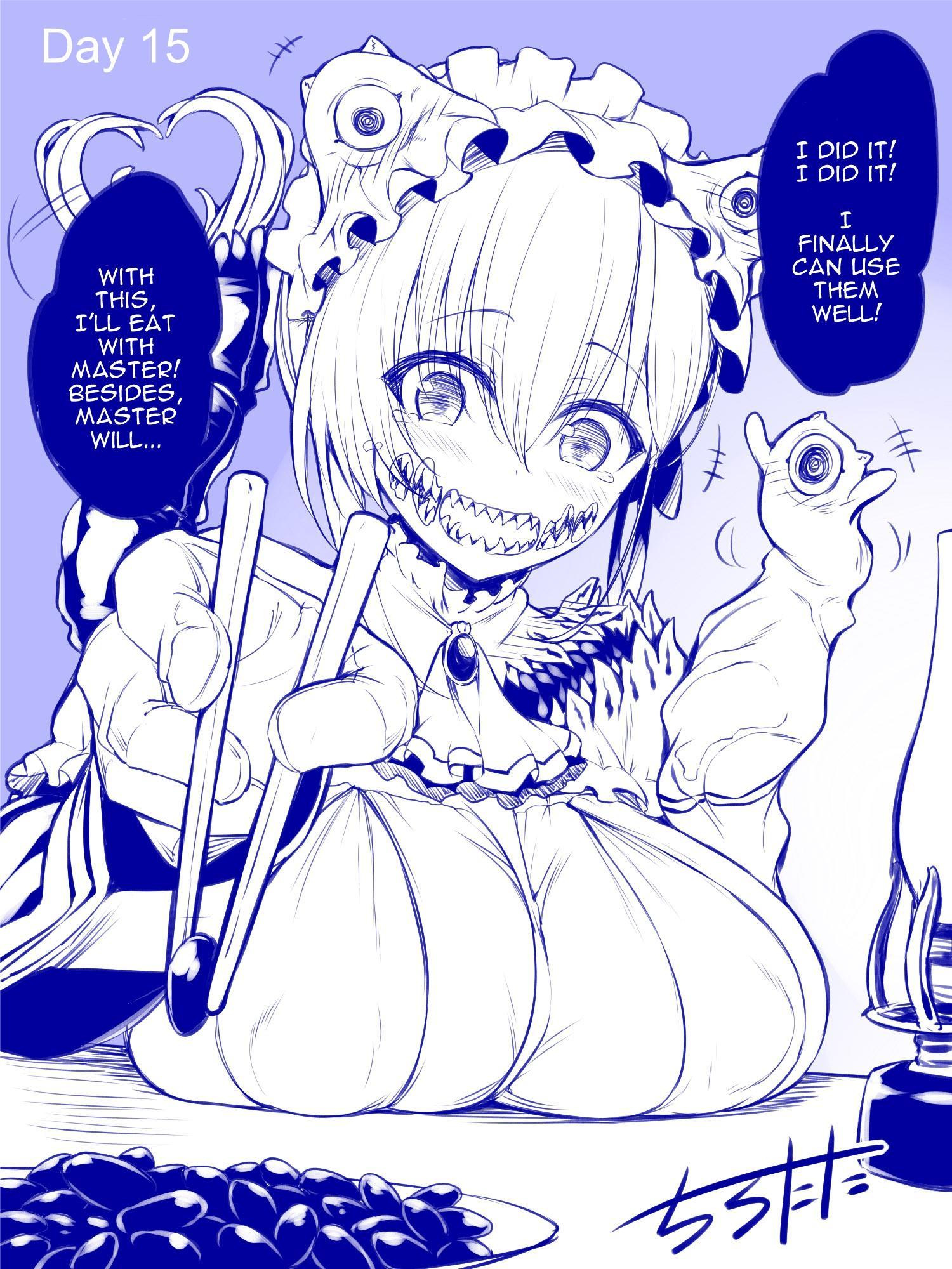 Mimic Girl Chapter 8: Mimic And Chopsticks (2) page 4 - Mangakakalots.com