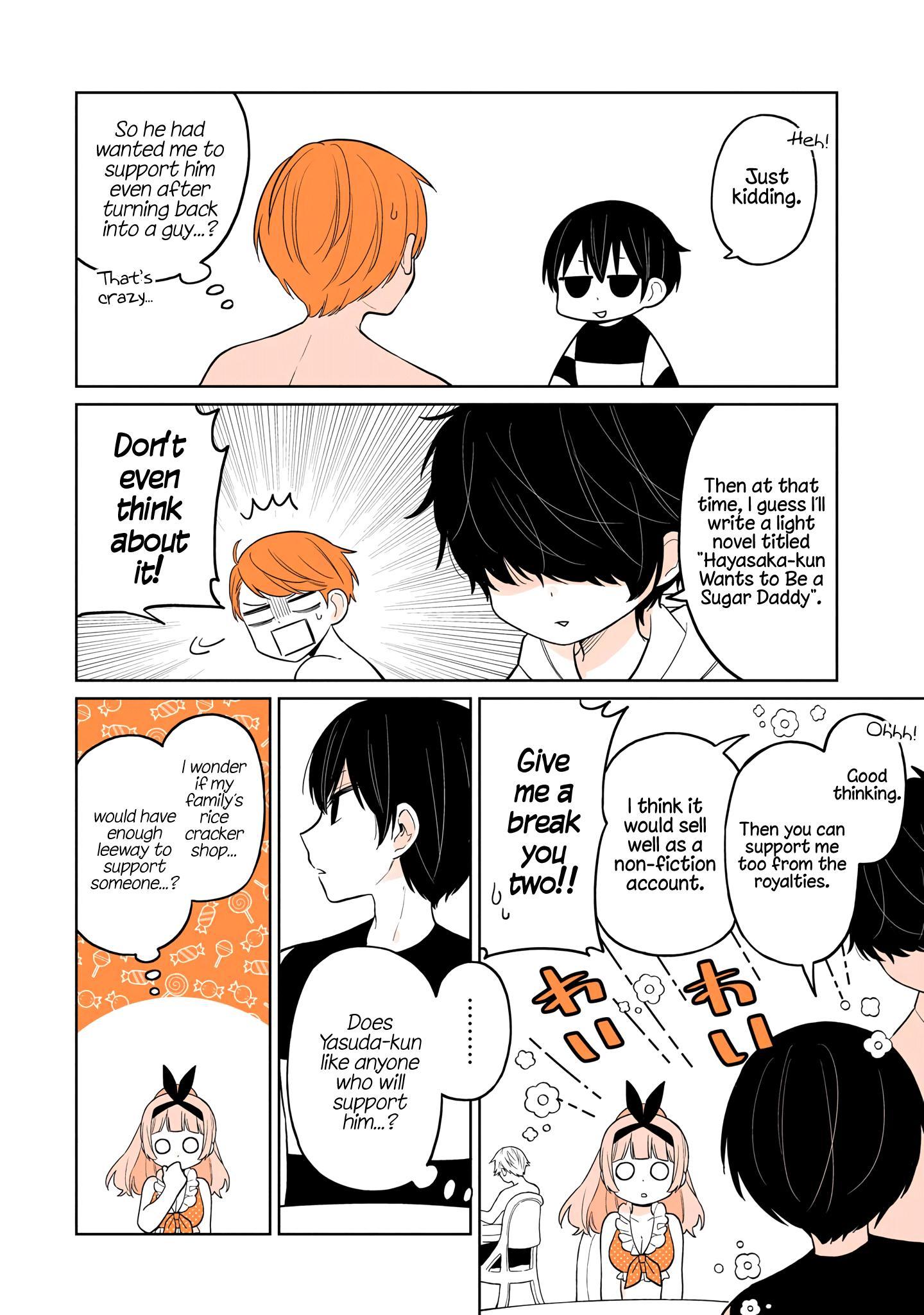 A Lazy Guy Woke Up As A Girl One Morning Chapter 16 page 21 - Mangakakalots.com