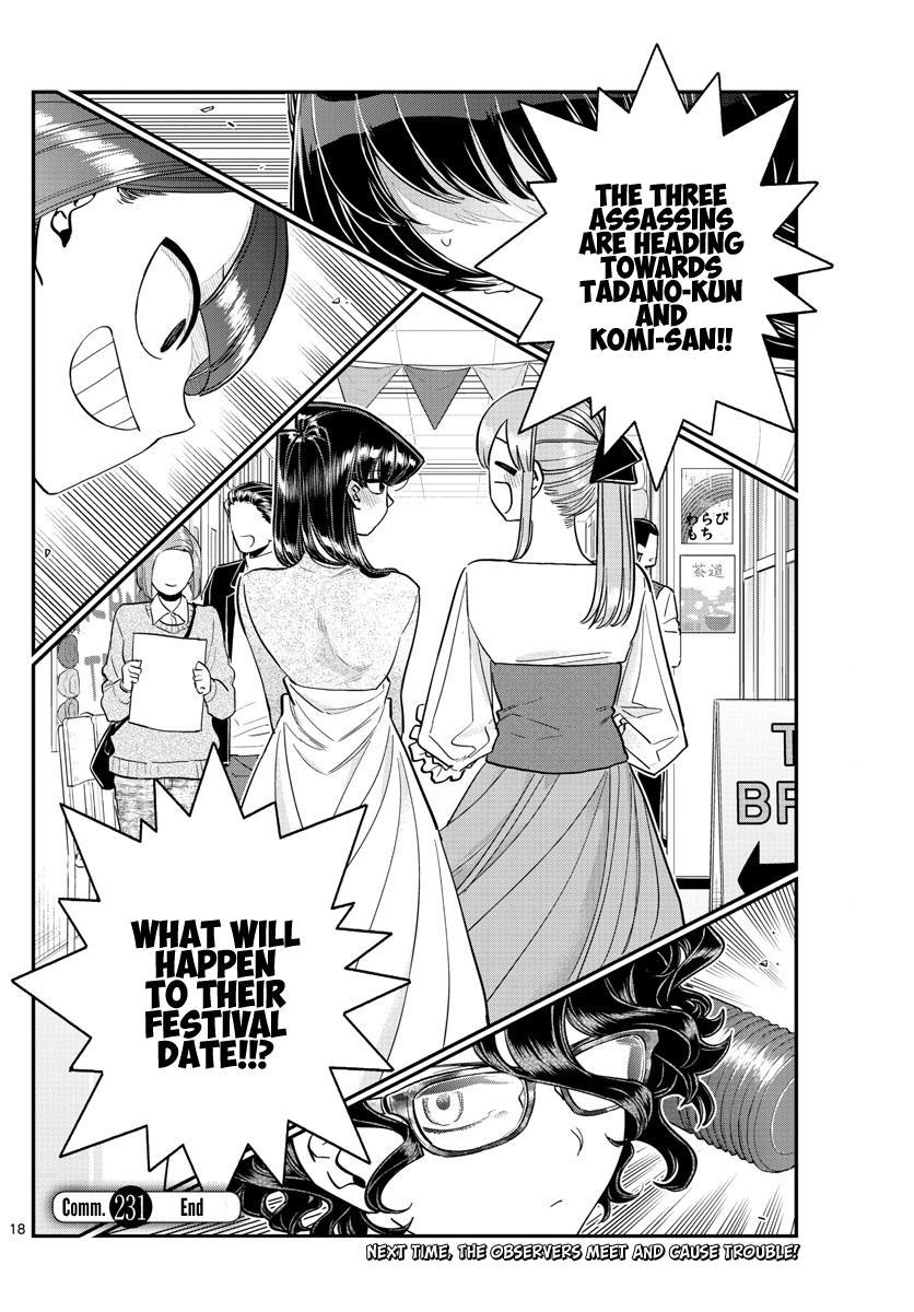 Komi-San Wa Komyushou Desu Chapter 231: Invitation page 18 - Mangakakalot