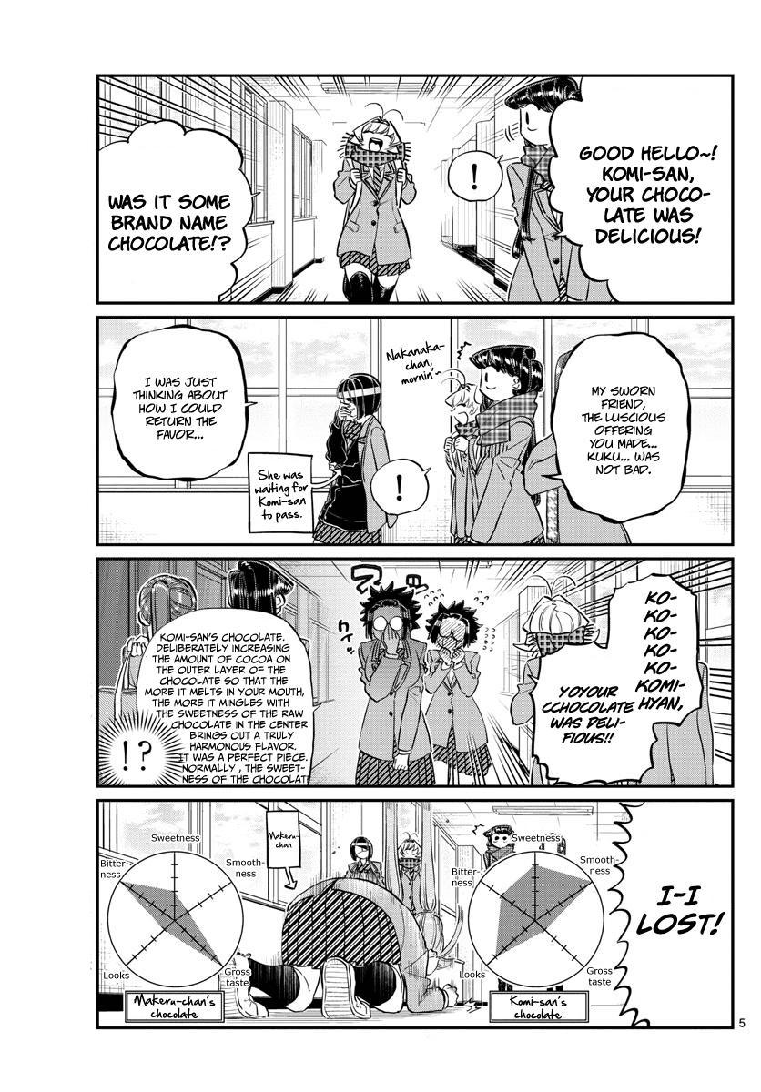 Komi-San Wa Komyushou Desu Vol.9 Chapter 119: After Valentine's page 5 - Mangakakalot