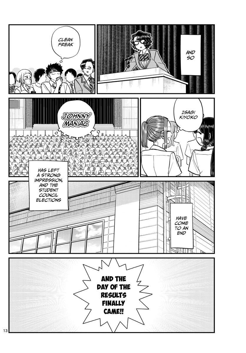 Komi-San Wa Komyushou Desu Chapter 203: Election Manager 2 page 13 - Mangakakalot