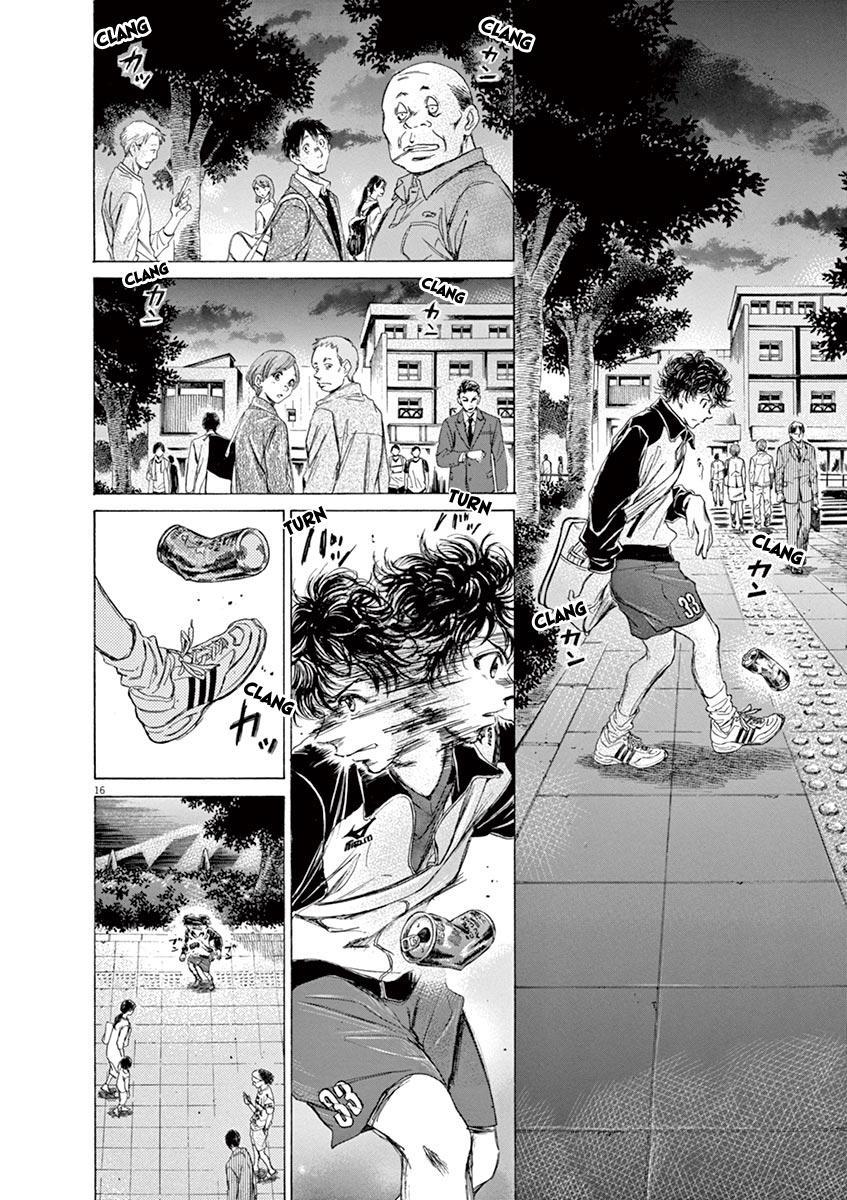 Ao Ashi Vol.8 Chapter 75: At The Entrance Of Mitaka Station (2) page 17 - Mangakakalots.com