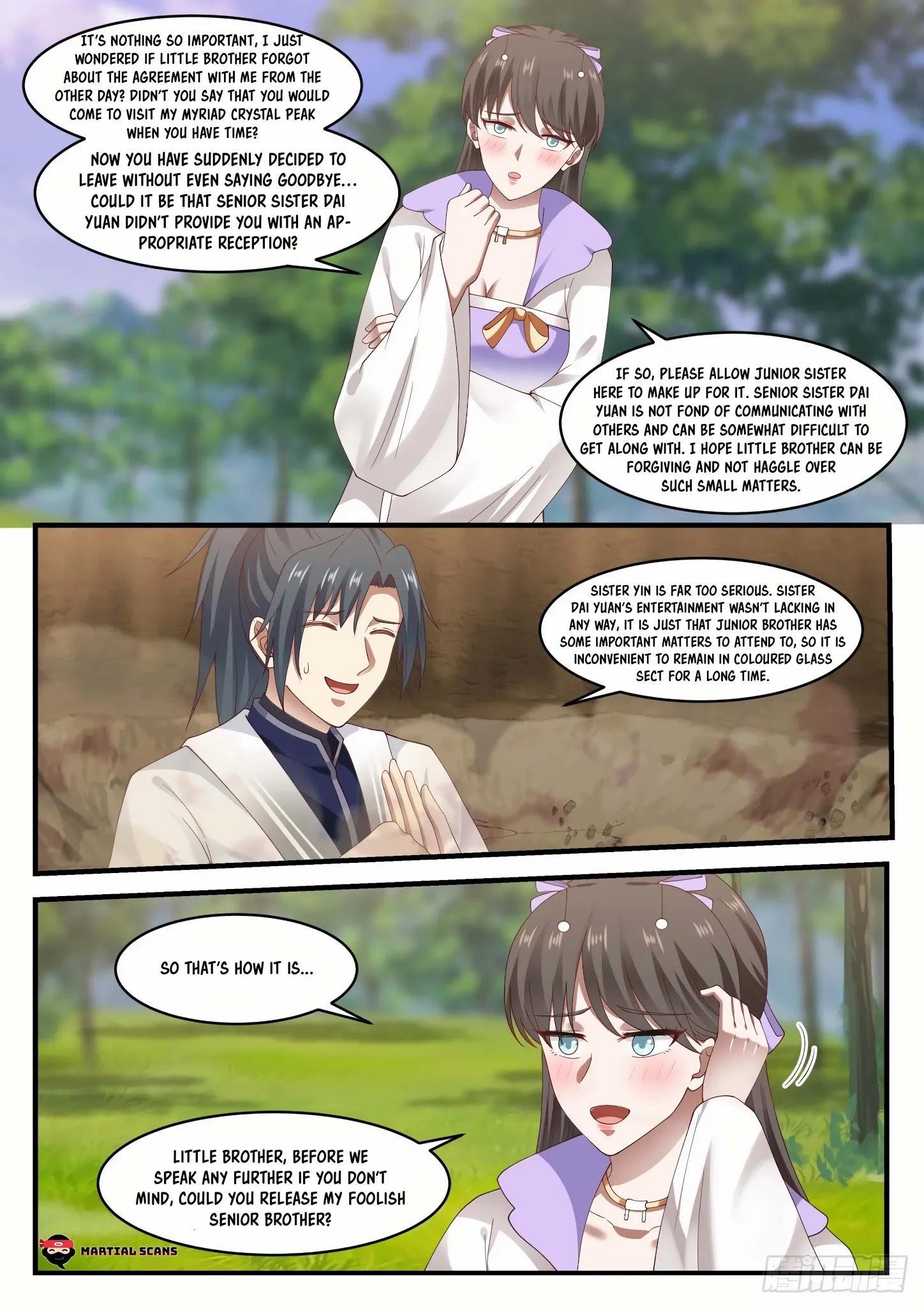 Martial Peak Chapter 1184: Bond Of Fate page 9 - Mangakakalots.com