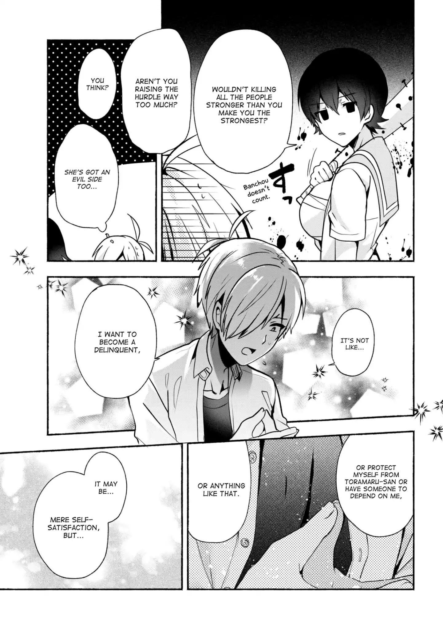 Pashiri Na Boku To Koi Suru Banchou-San Chapter 28 page 10 - Mangakakalots.com
