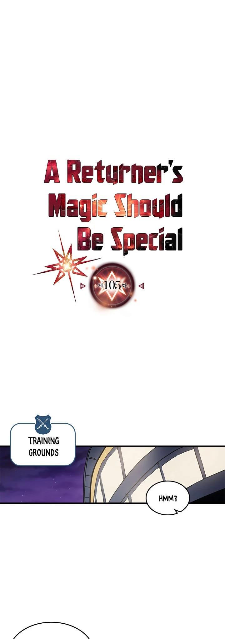 A Returner's Magic Should Be Special Chapter 105 page 2 - Mangakakalots.com