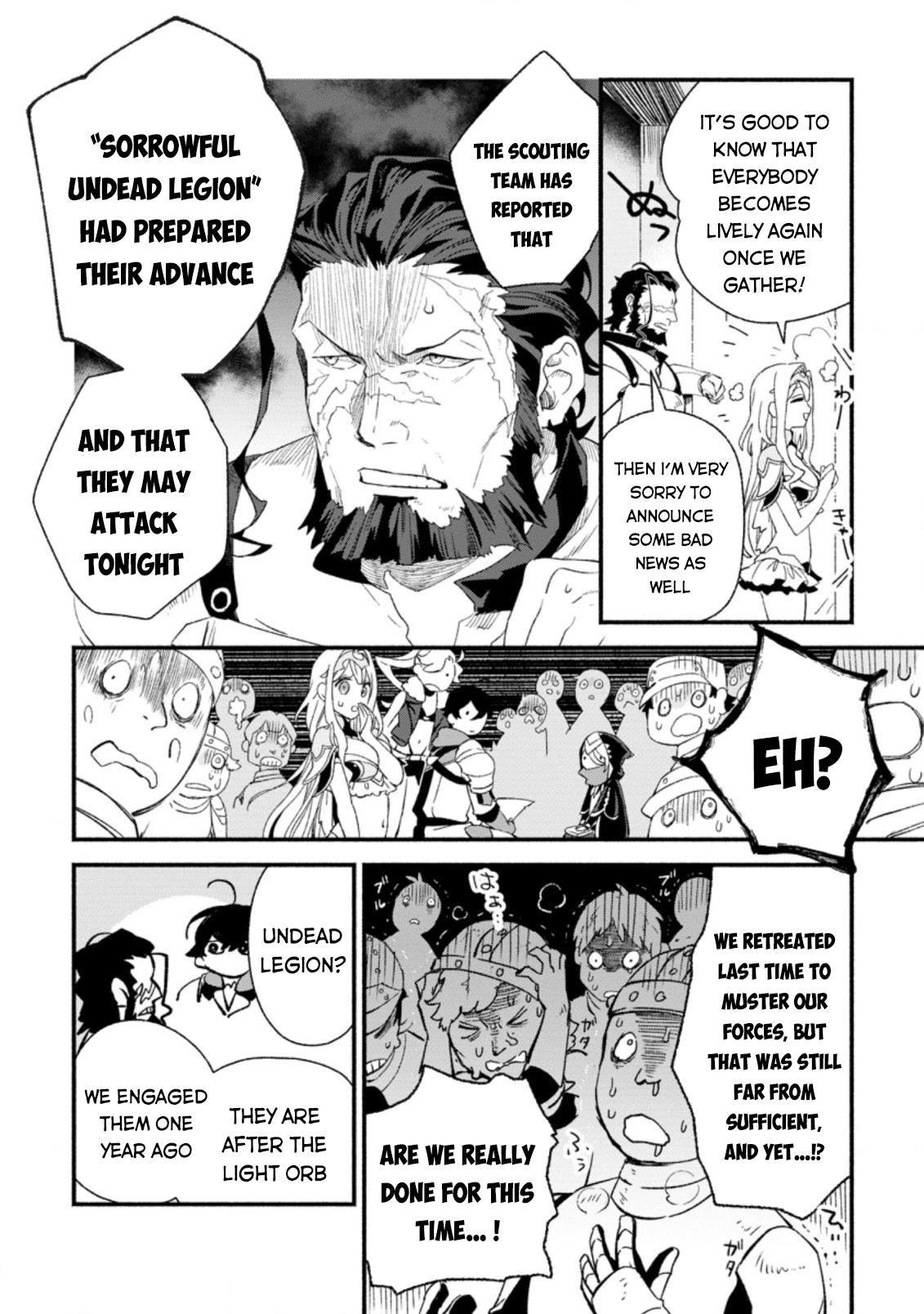 Sono Monban, Saikyou Nitsuki: Tsuihou Sareta Bougyo Ryoku 9999 No Senshi, Outo No Monban Toshite Musou Suru Chapter 5 page 25 - Mangakakalots.com