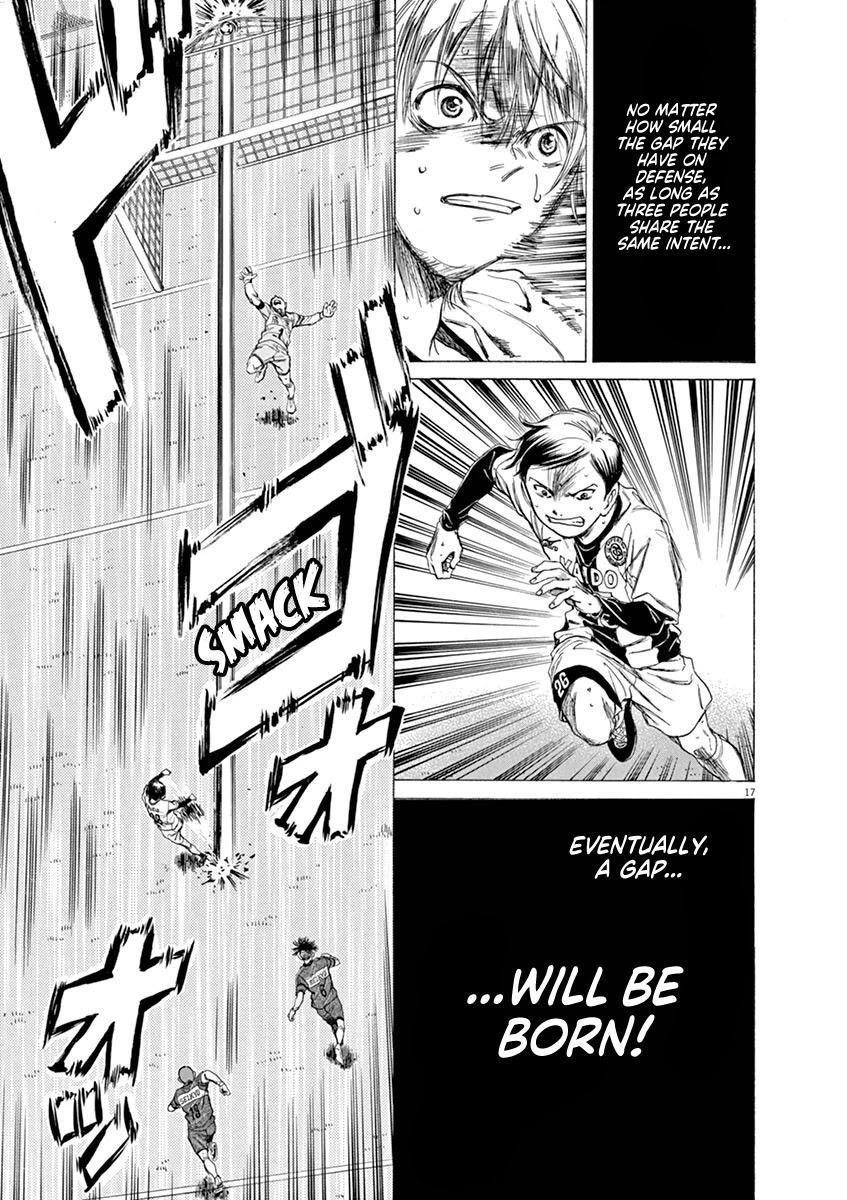 Ao Ashi Chapter 51: 3 page 21 - Mangakakalots.com