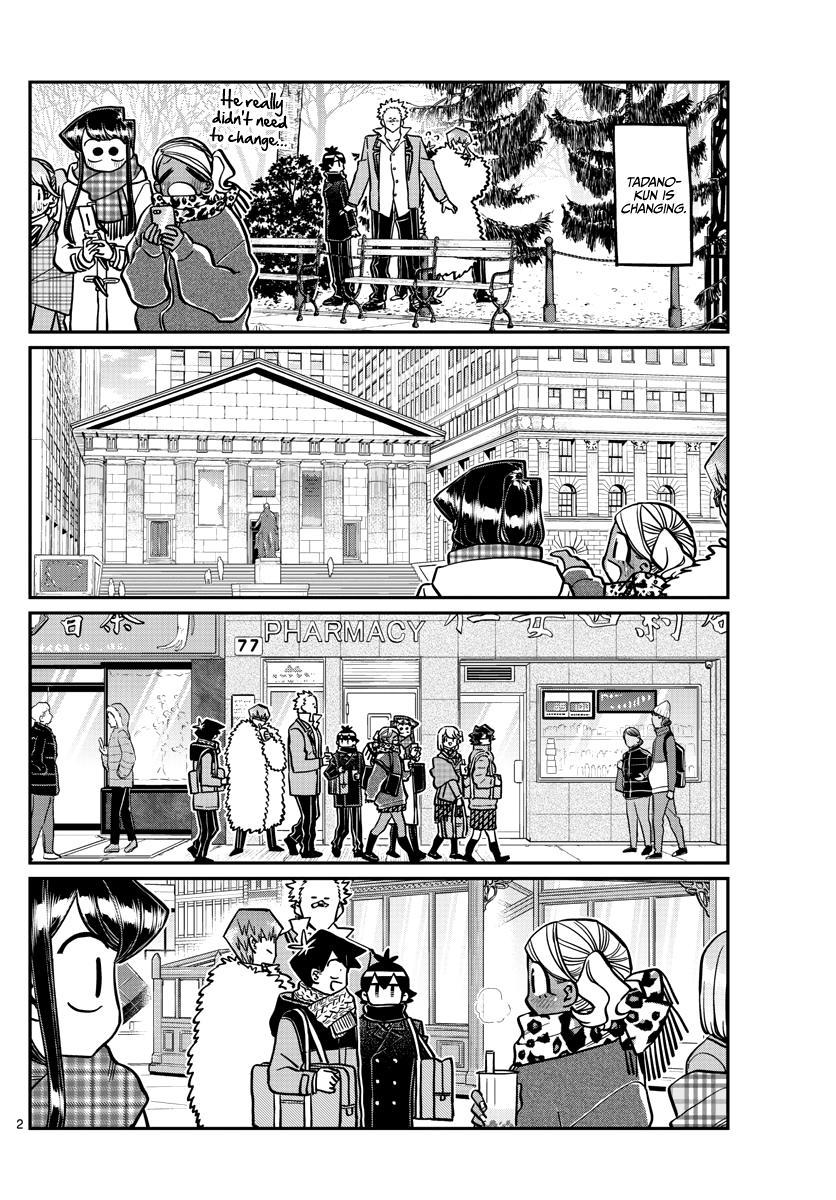 Komi-San Wa Komyushou Desu Chapter 293: Turn This Way. Please. page 2 - Mangakakalots.com