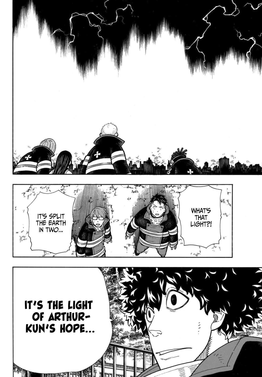 Enen No Shouboutai Chapter 272: The Knight King page 5 - Mangakakalots.com
