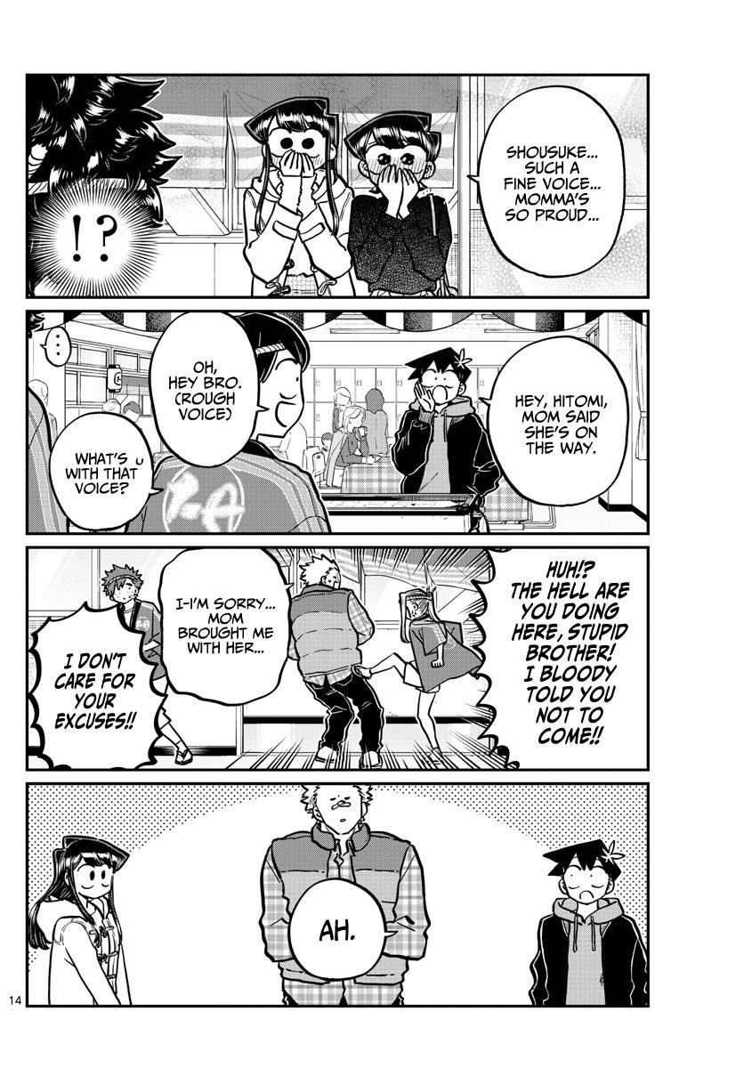 Komi-San Wa Komyushou Desu Chapter 244: Little Brother'S Cultural Festival page 14 - Mangakakalot
