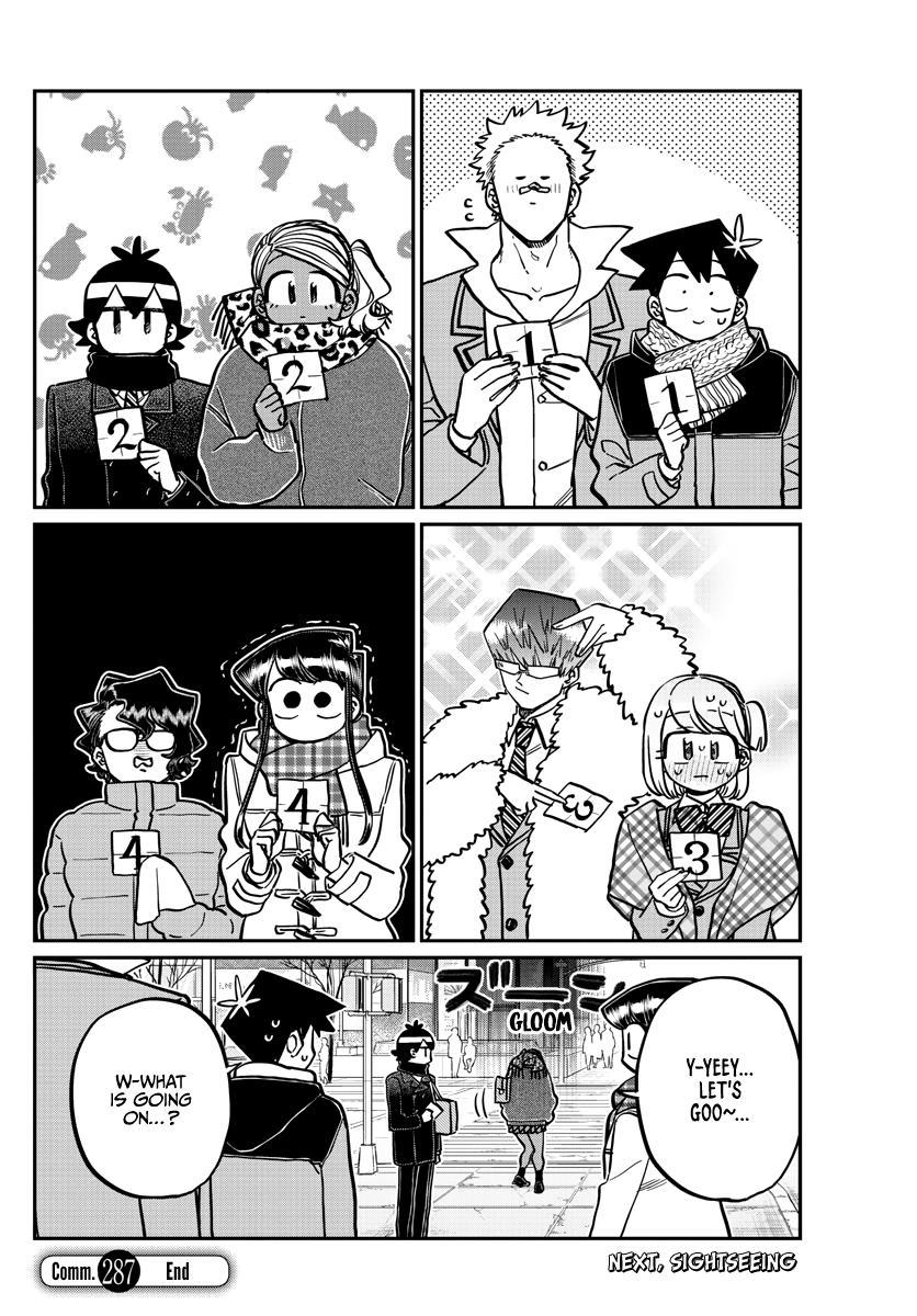 Komi-San Wa Komyushou Desu Chapter 287: Group Activities page 5 - Mangakakalot