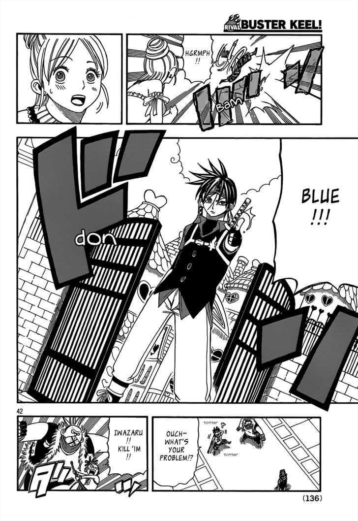 Buster Keel! Vol.2 Chapter 17 : Songbird Dream page 42 - Mangakakalots.com