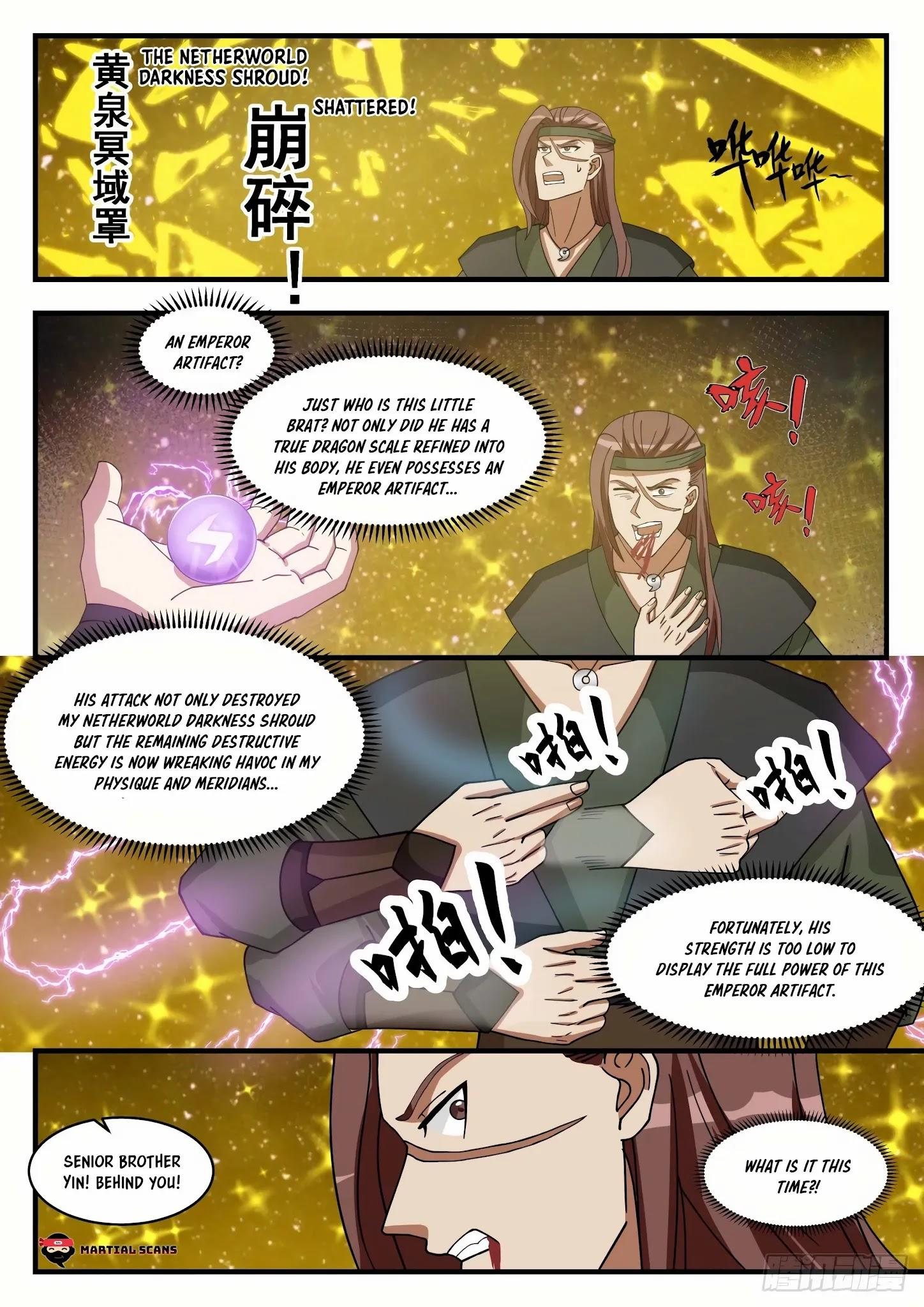 Martial Peak Chapter 1555: Arrived At The Star Boundary page 4 - Mangakakalots.com