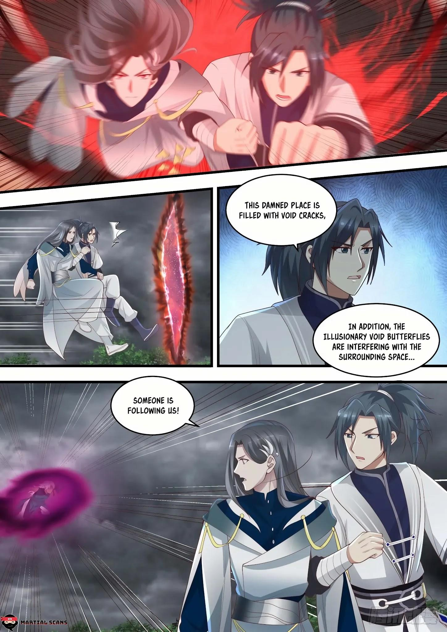 Martial Peak Chapter 1457: Illusionary Void Butterfly page 11 - Mangakakalots.com
