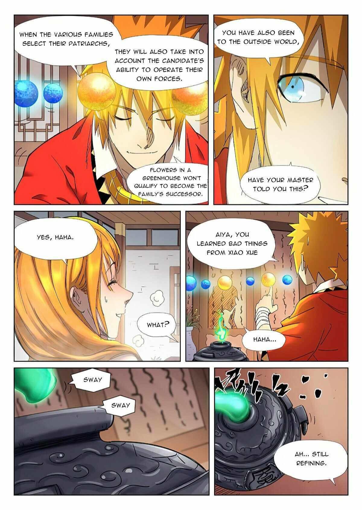 Tales Of Demons And Gods Chapter 343.5 page 6 - Mangakakalot