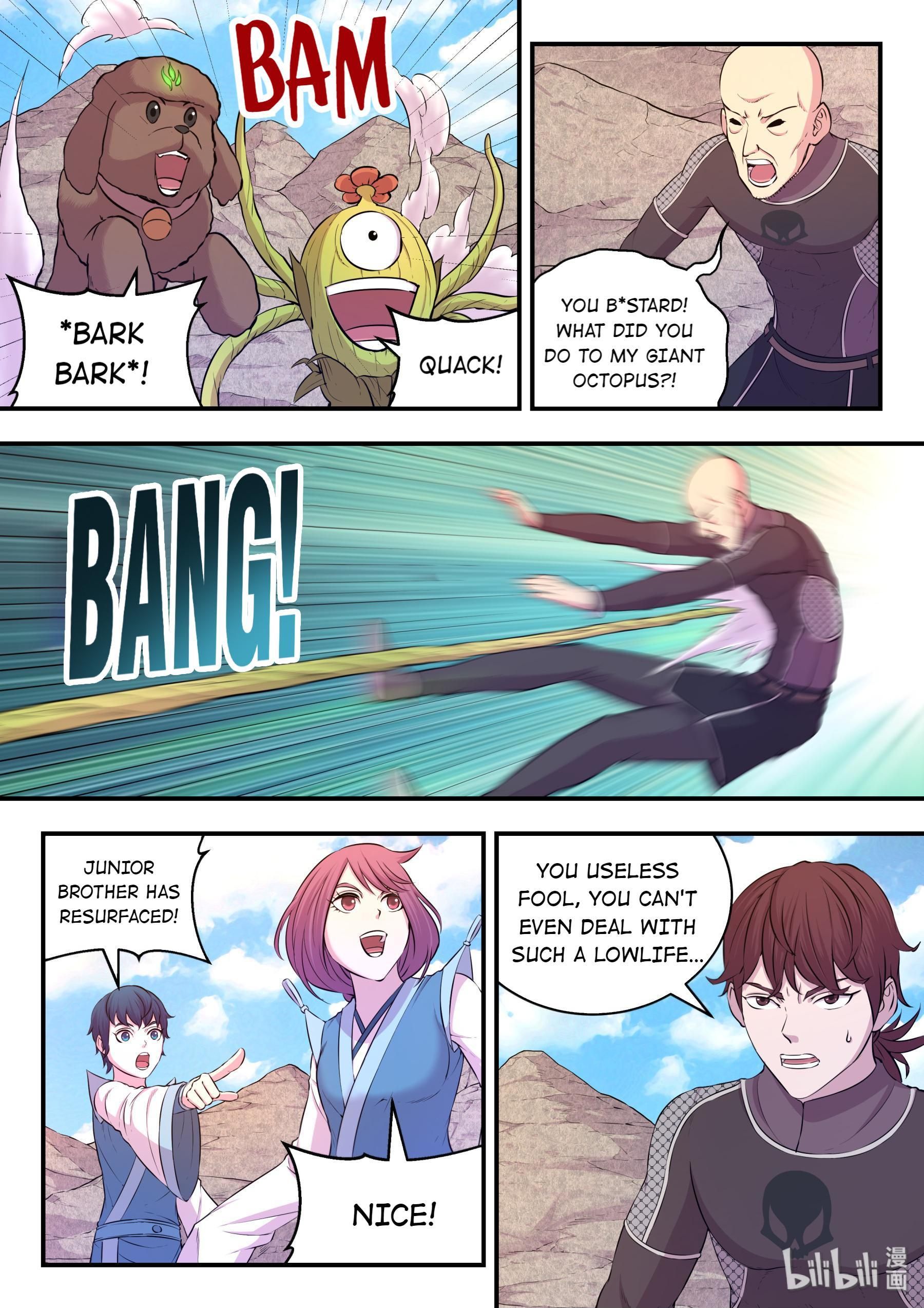 The All-Devouring Whale Chapter 33: Transfigure Qhale Into Roc page 9 - Mangakakalots.com