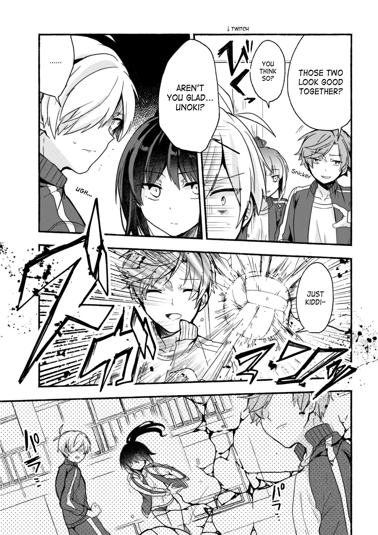 Pashiri Na Boku To Koi Suru Banchou-San Chapter 13 page 14 - Mangakakalots.com
