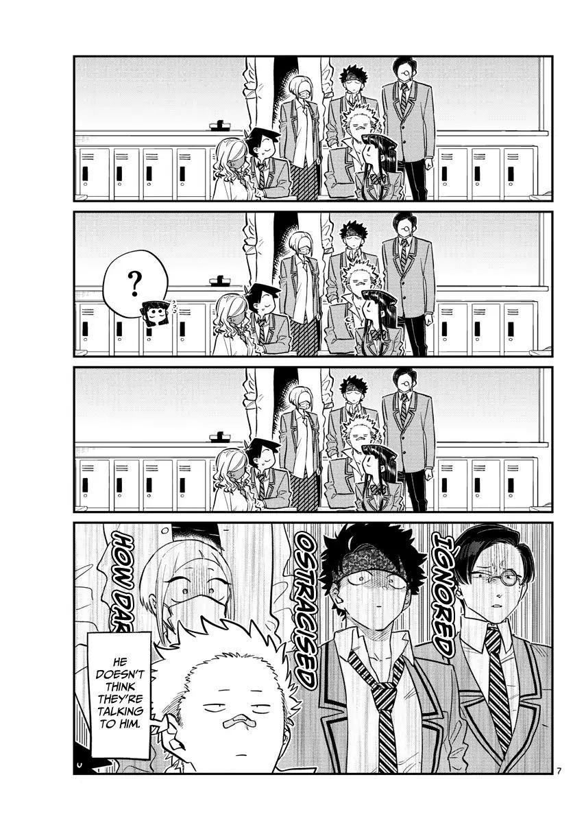 Komi-San Wa Komyushou Desu Vol.11 Chapter 146: Delinquents 2 page 7 - Mangakakalot