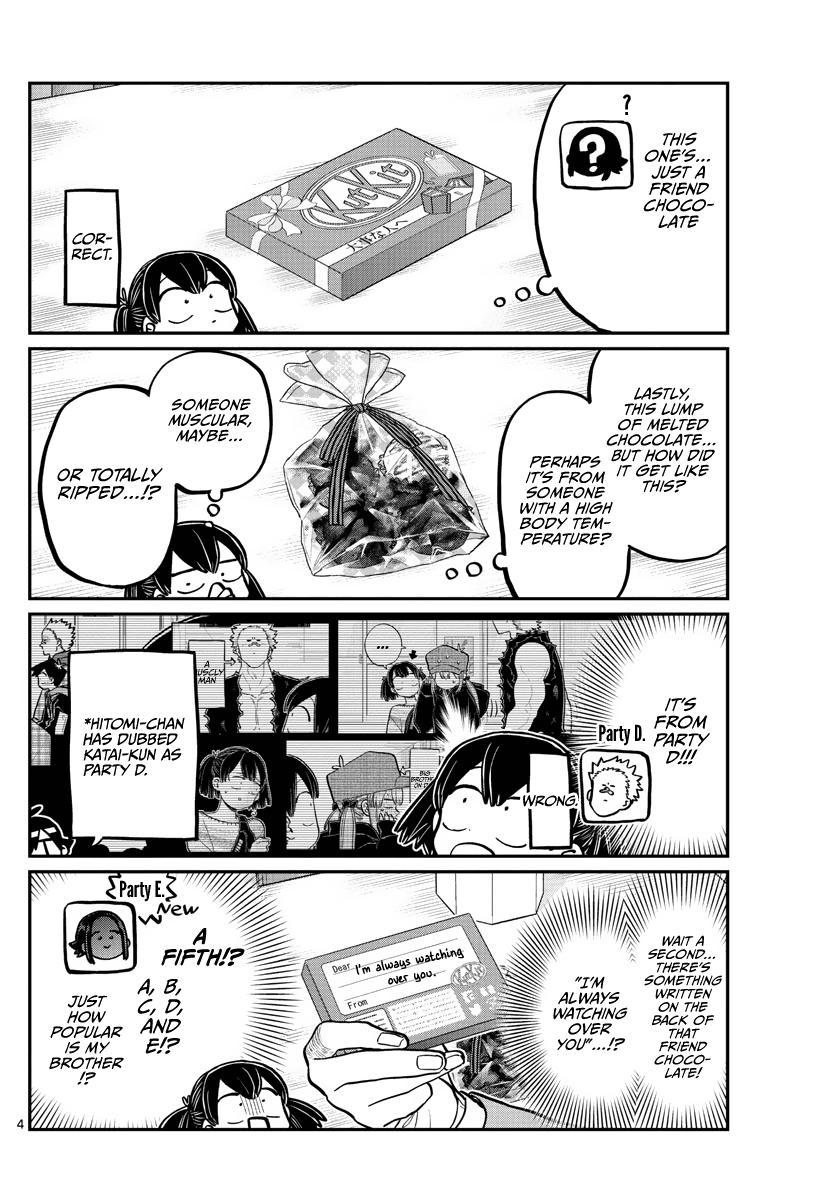 Komi-San Wa Komyushou Desu Chapter 307: Post-Confession page 4 - Mangakakalot